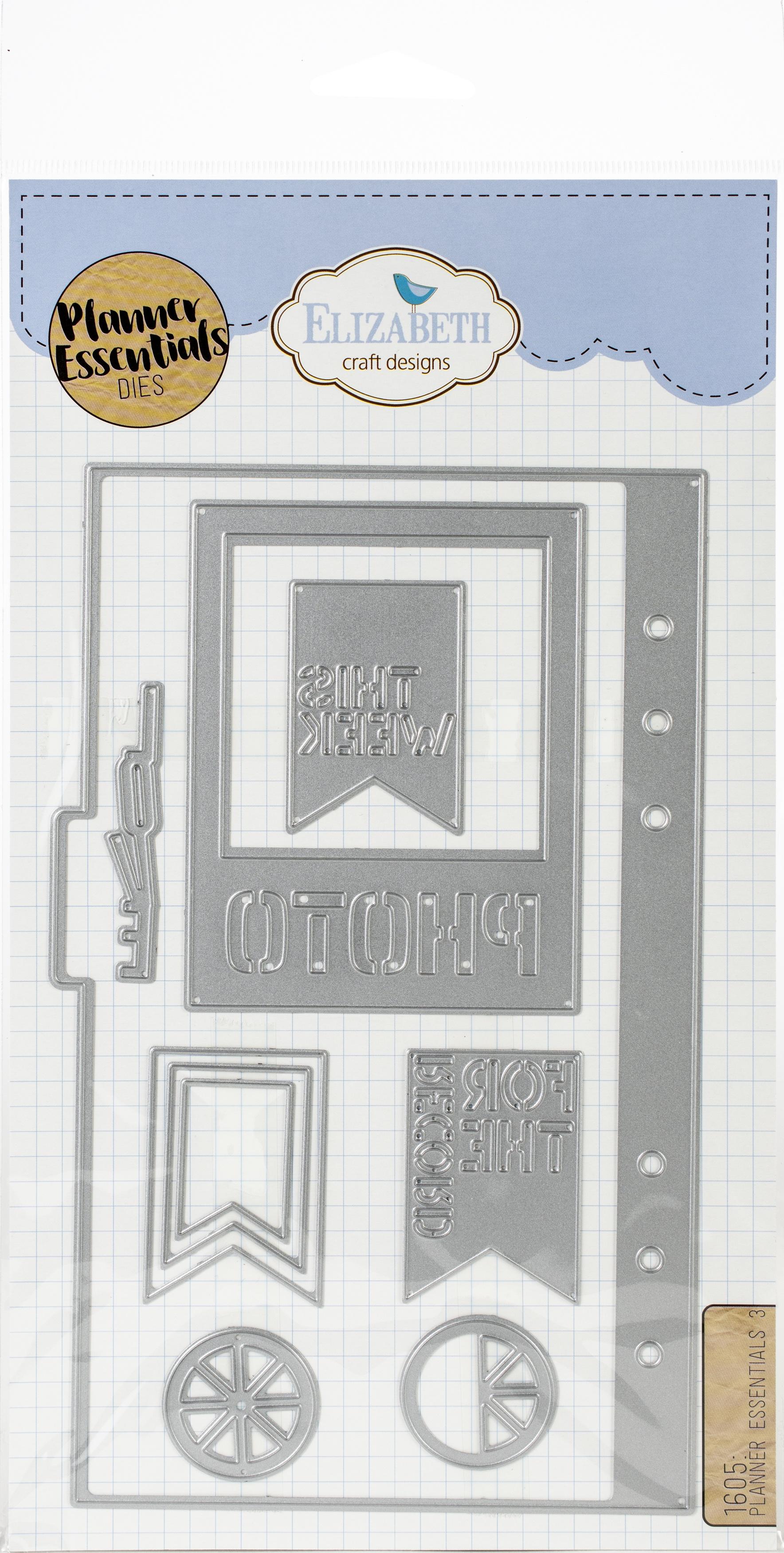 Elizabeth Craft Metal Die-Planner Essentials 3
