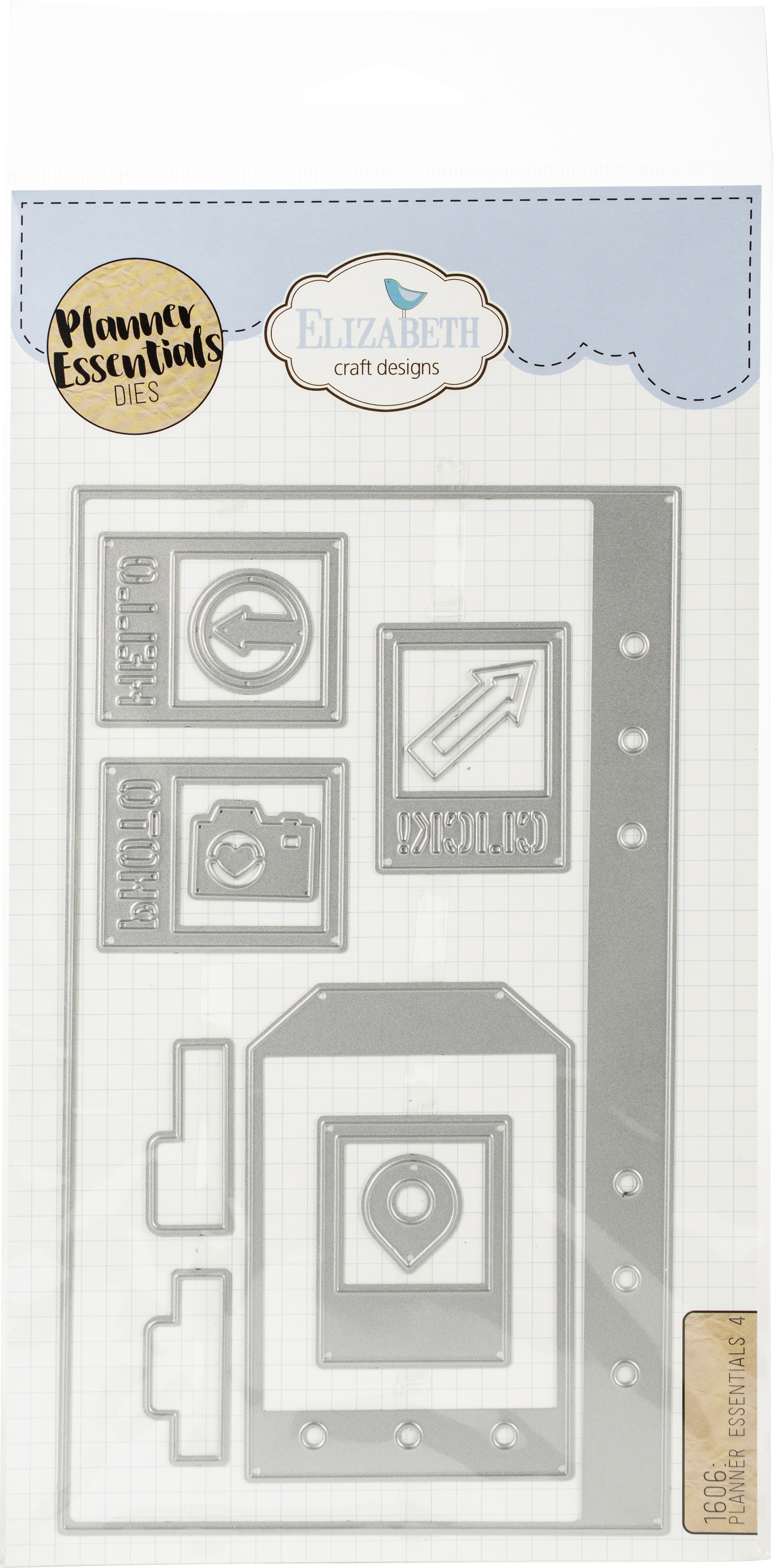 Elizabeth Craft Metal Die-Planner Essentials 4