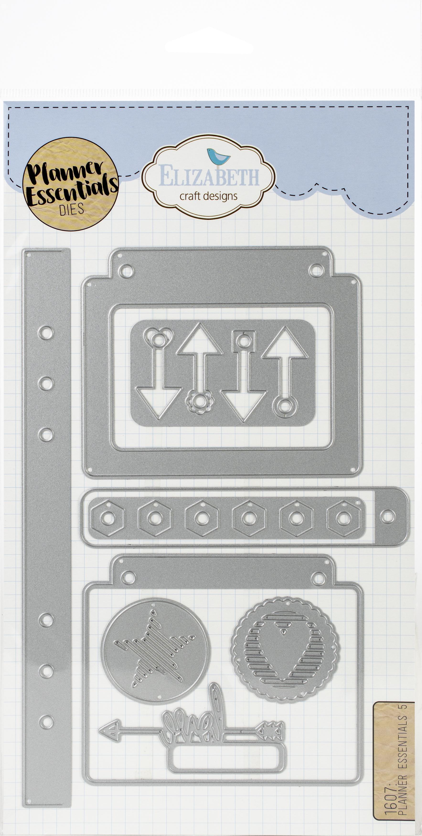 Elizabeth Craft Metal Die-Planner Essentials 5