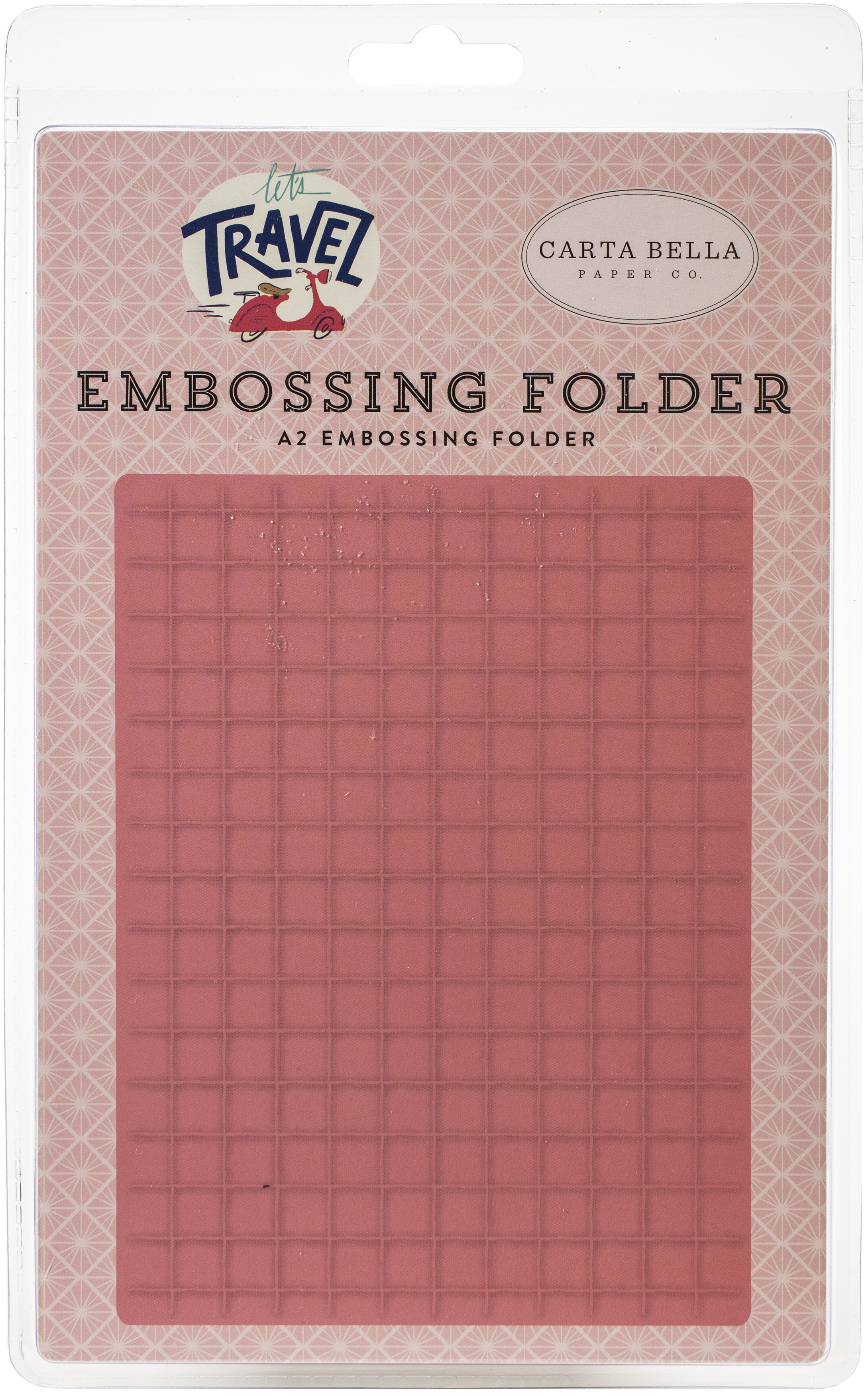 Carta Bella Embossing Folder A2-Grid
