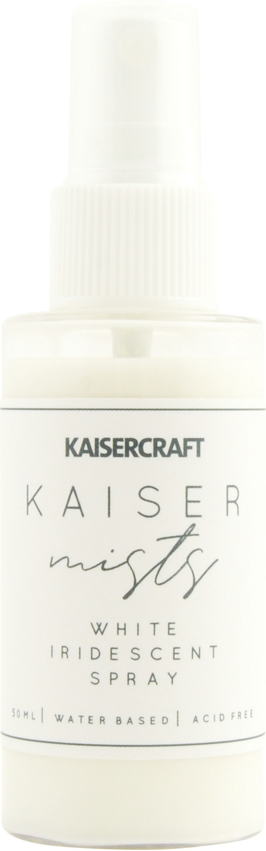 KaiserMists Iridescent Ink Spray 1.5oz-White