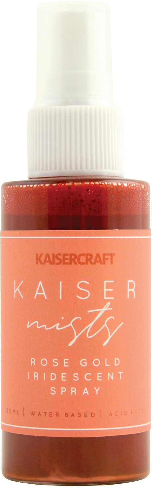 KaiserMists Iridescent Ink Spray 1.5oz-Rose Gold