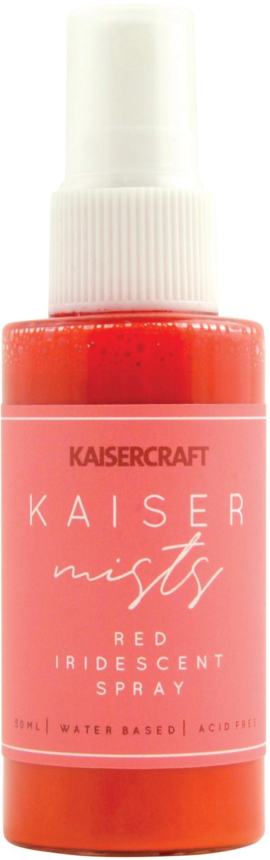 KaiserMists Iridescent Ink Spray 1.5oz-Red