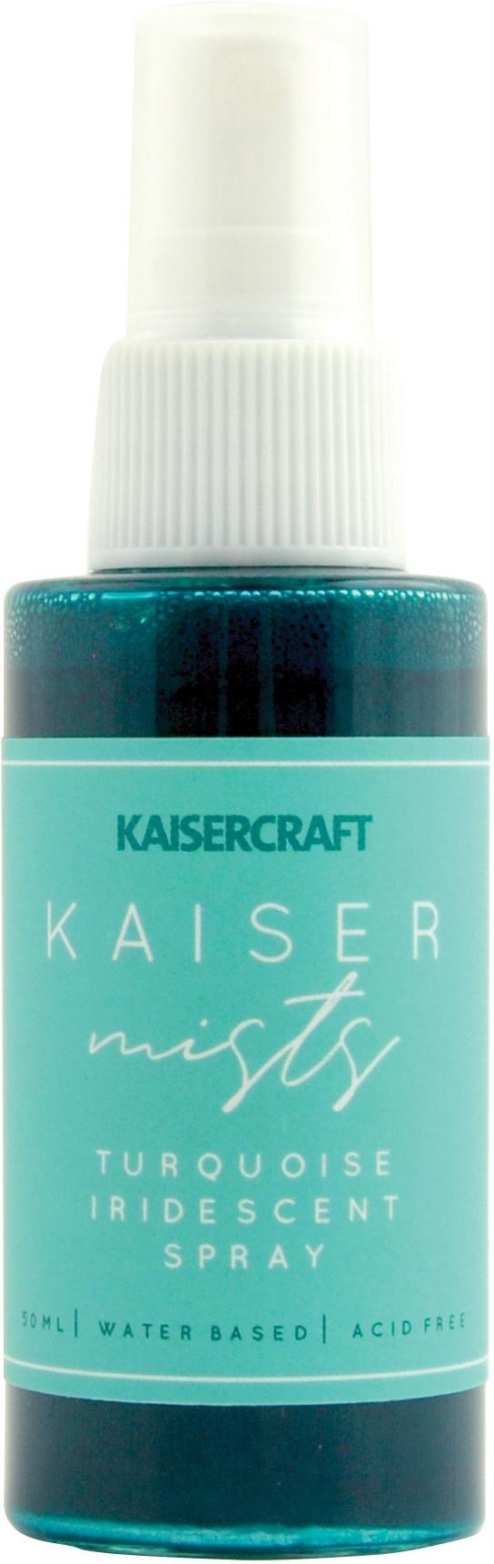 KaiserMists Iridescent Ink Spray 1.5oz-Turquoise