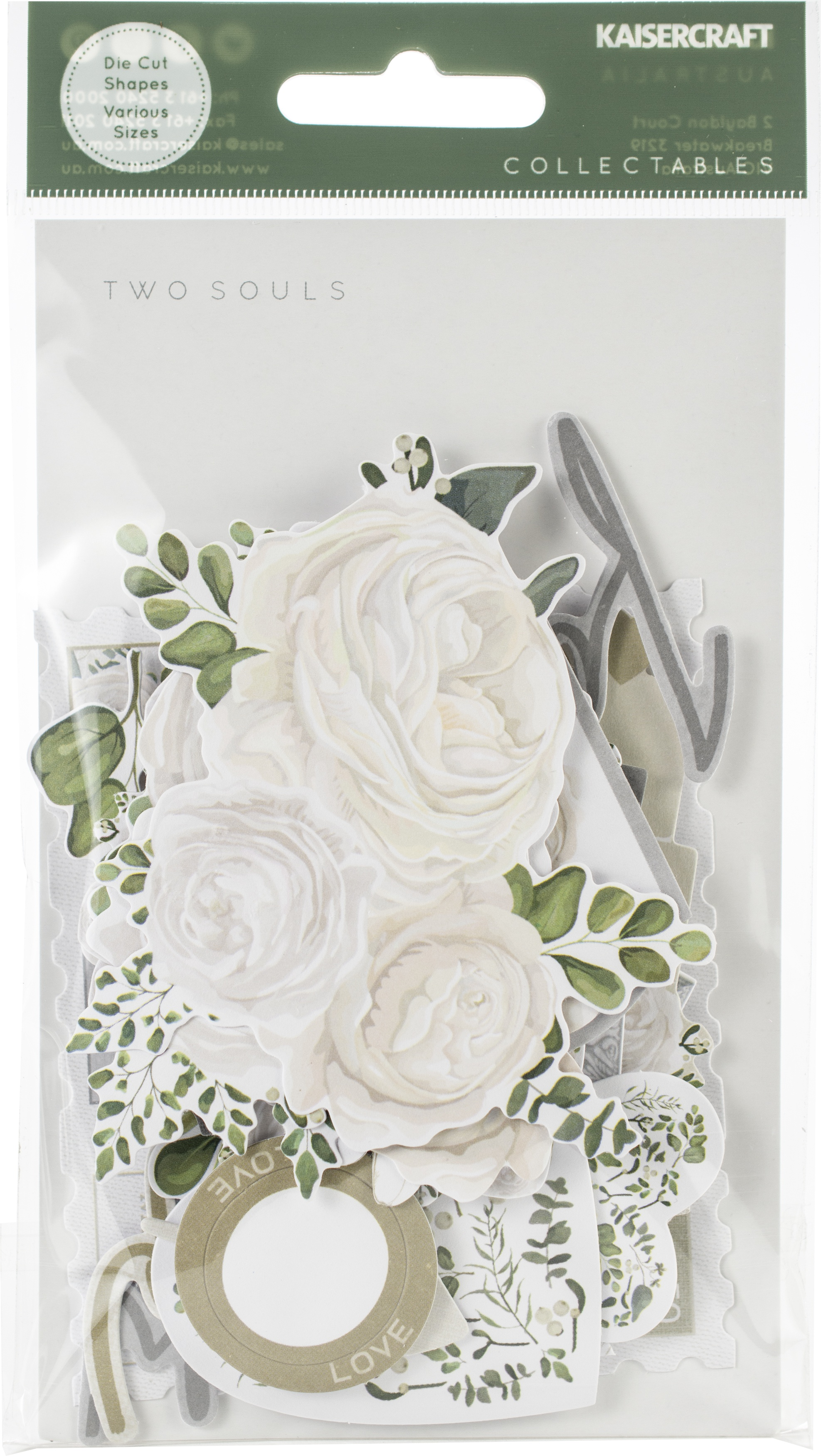 Kaisercraft Collectables Cardstock Die-Cuts-Two Souls