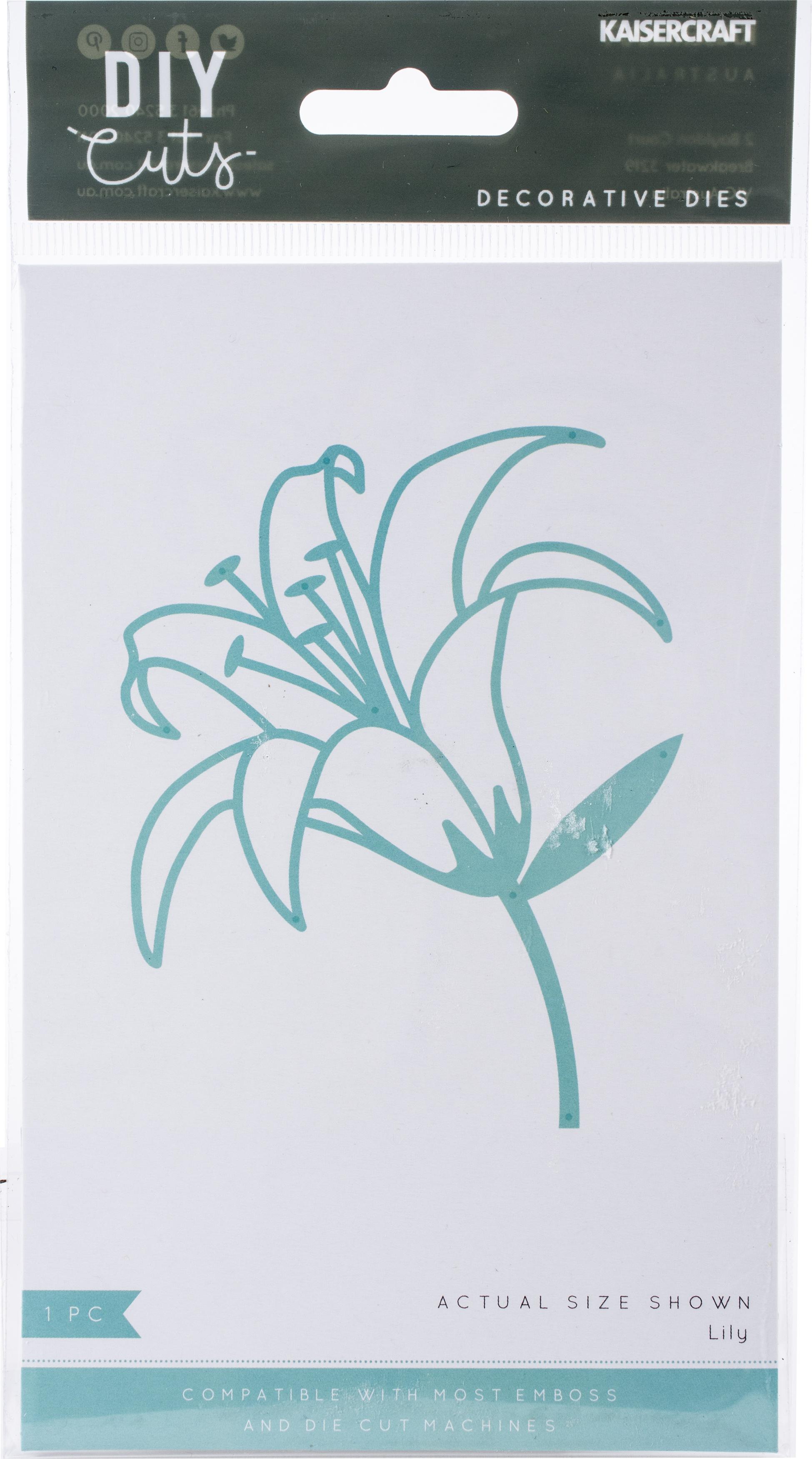 Kaisercraft Decorative Die-Lily