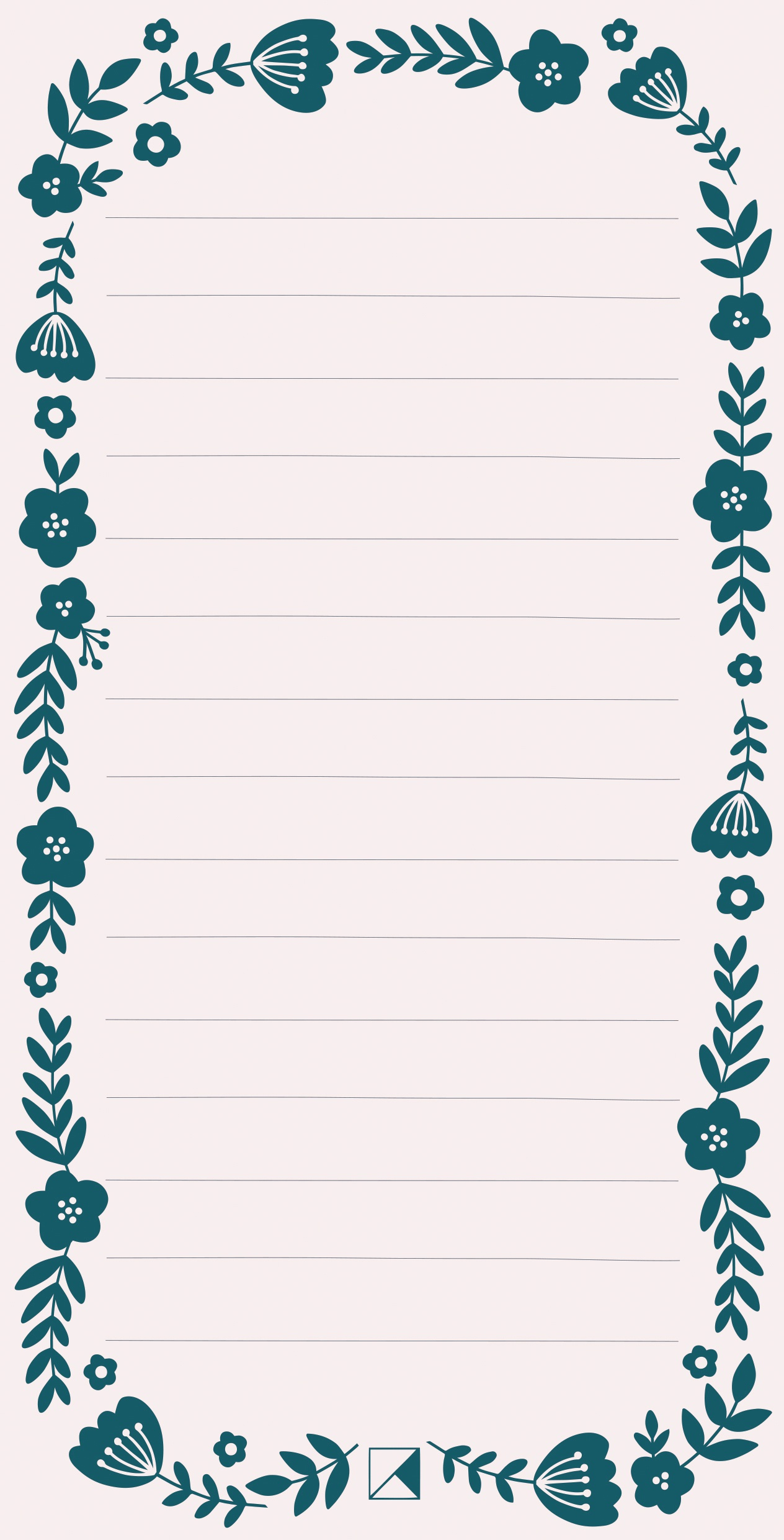 Kaiser Style Magnetic To Do List Pad 4X8 60/Sheets-Rosy; Lined