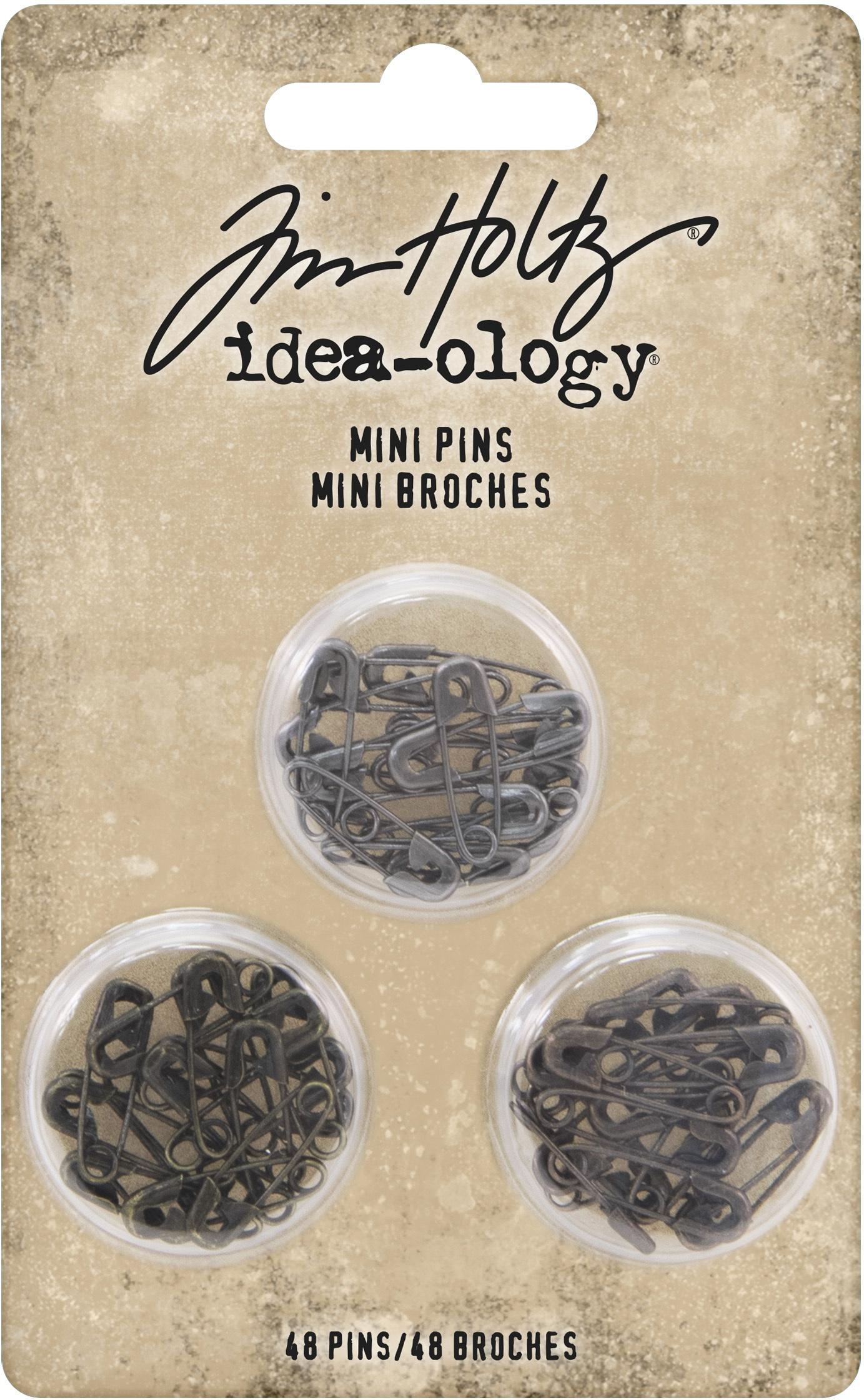 Idea-Ology Mini Metal Safety Pins