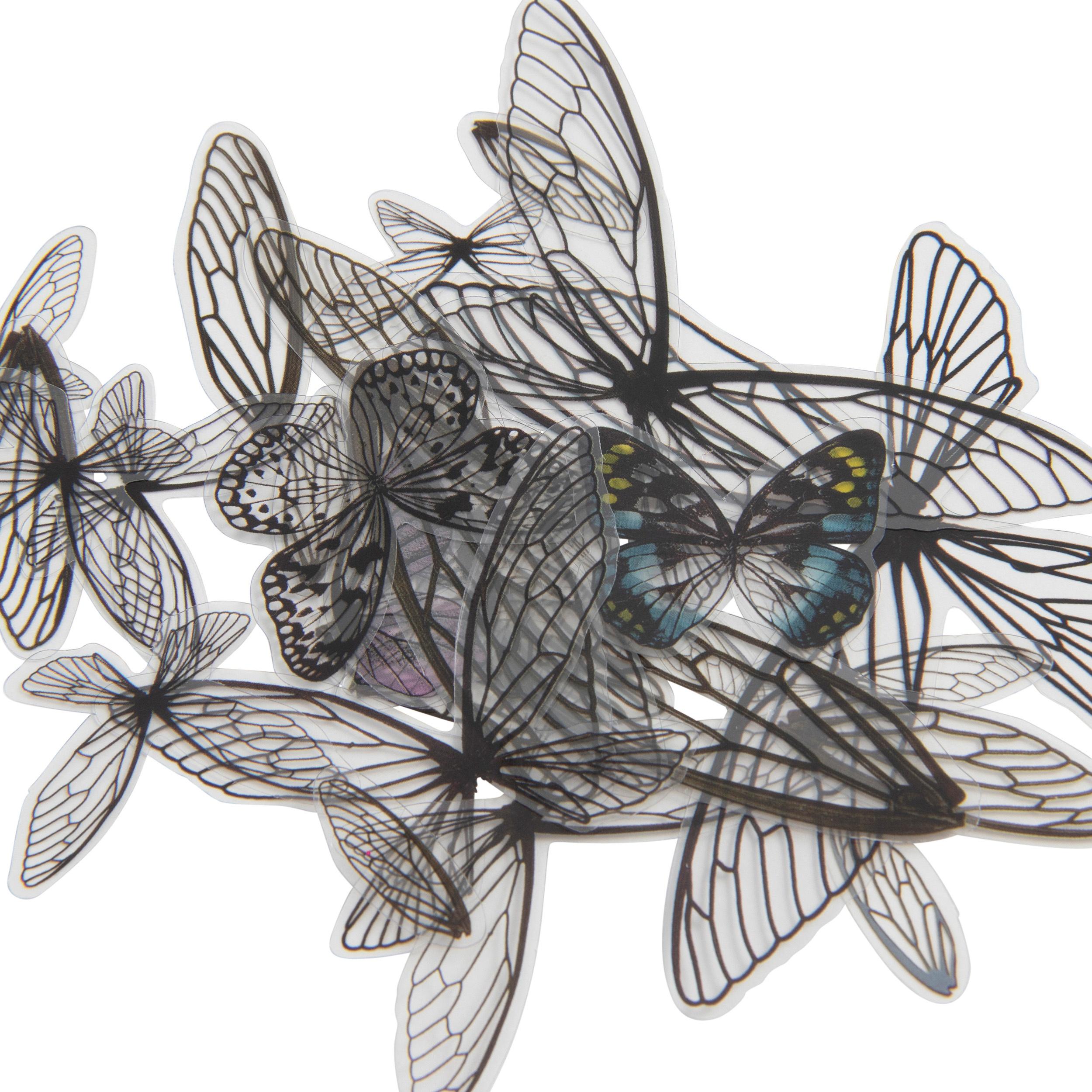 Idea-Ology Transparent Acetate Wings 72/Pkg-