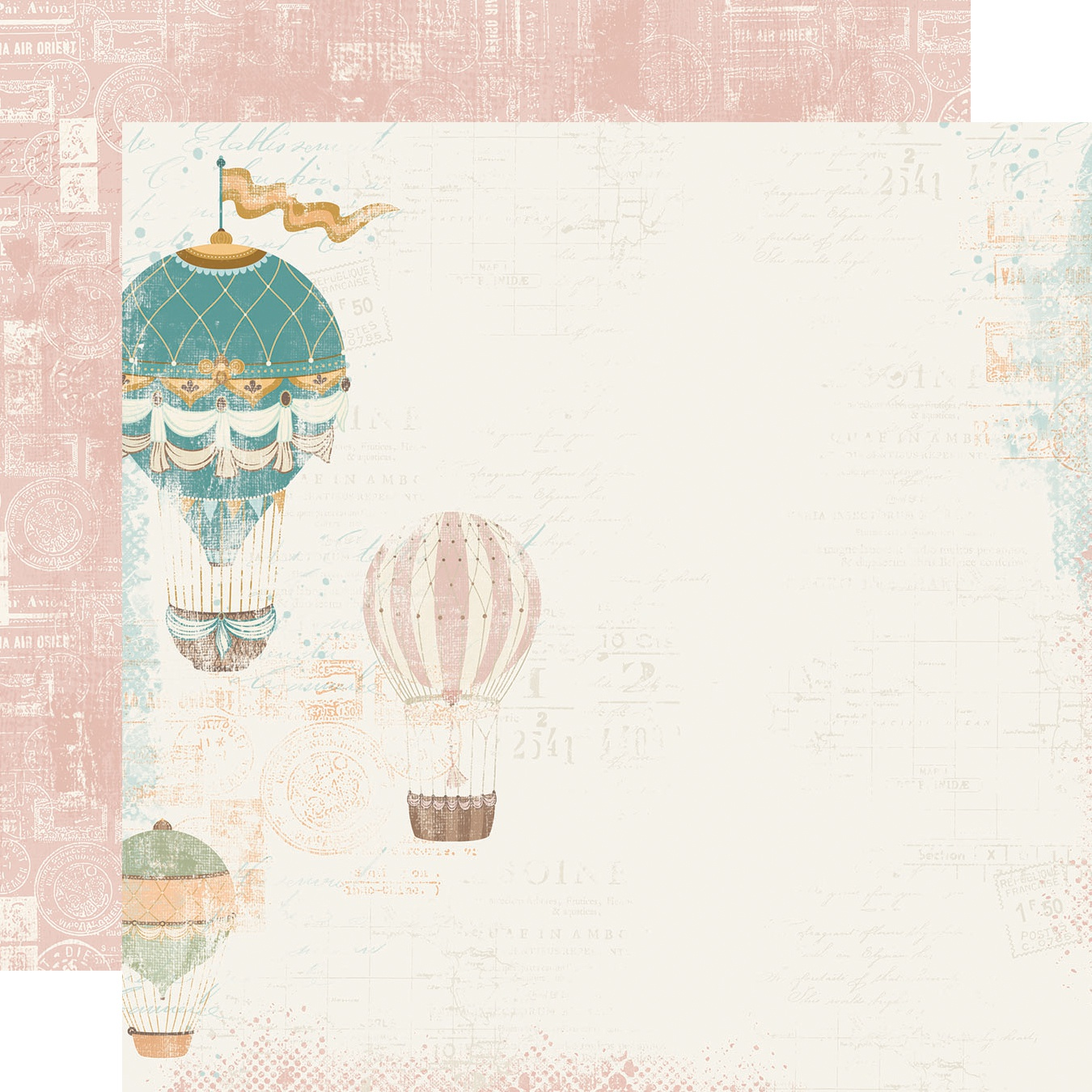 Simple Vintage Traveler Double-Sided Cardstock 12X12-Take Me Away