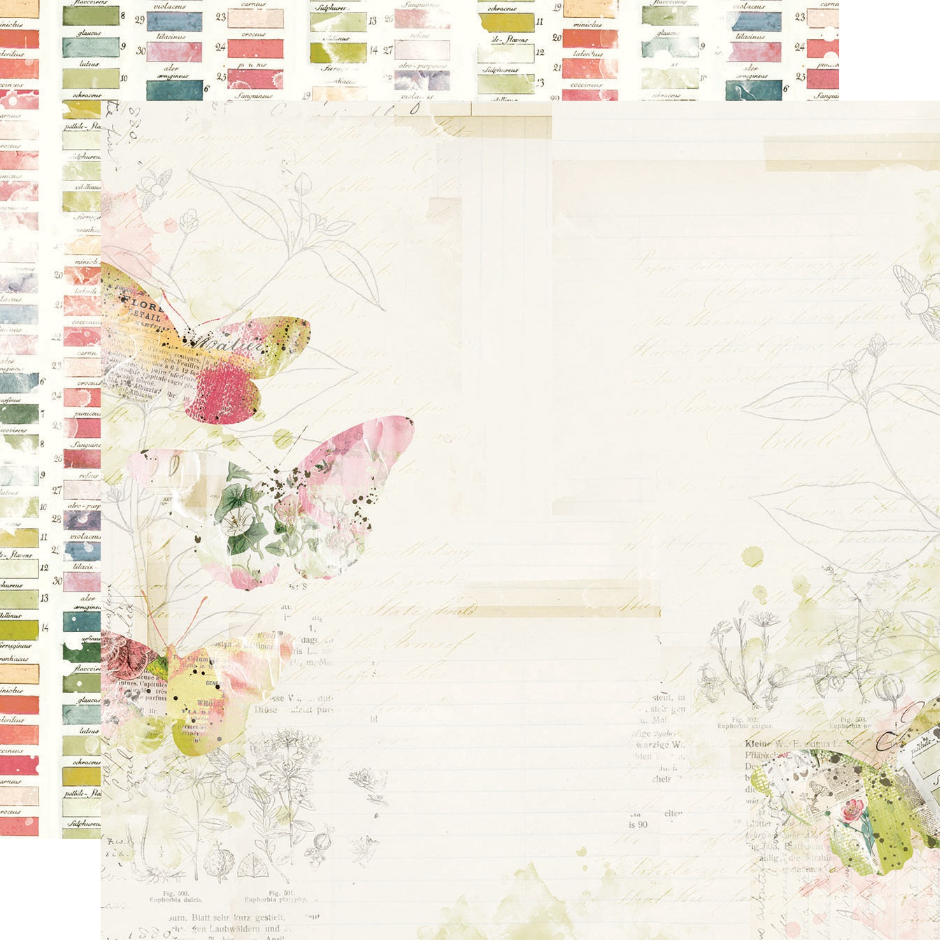 Simple Vintage Botanicals Double-Sided Cardstock 12X12-Everday Bliss