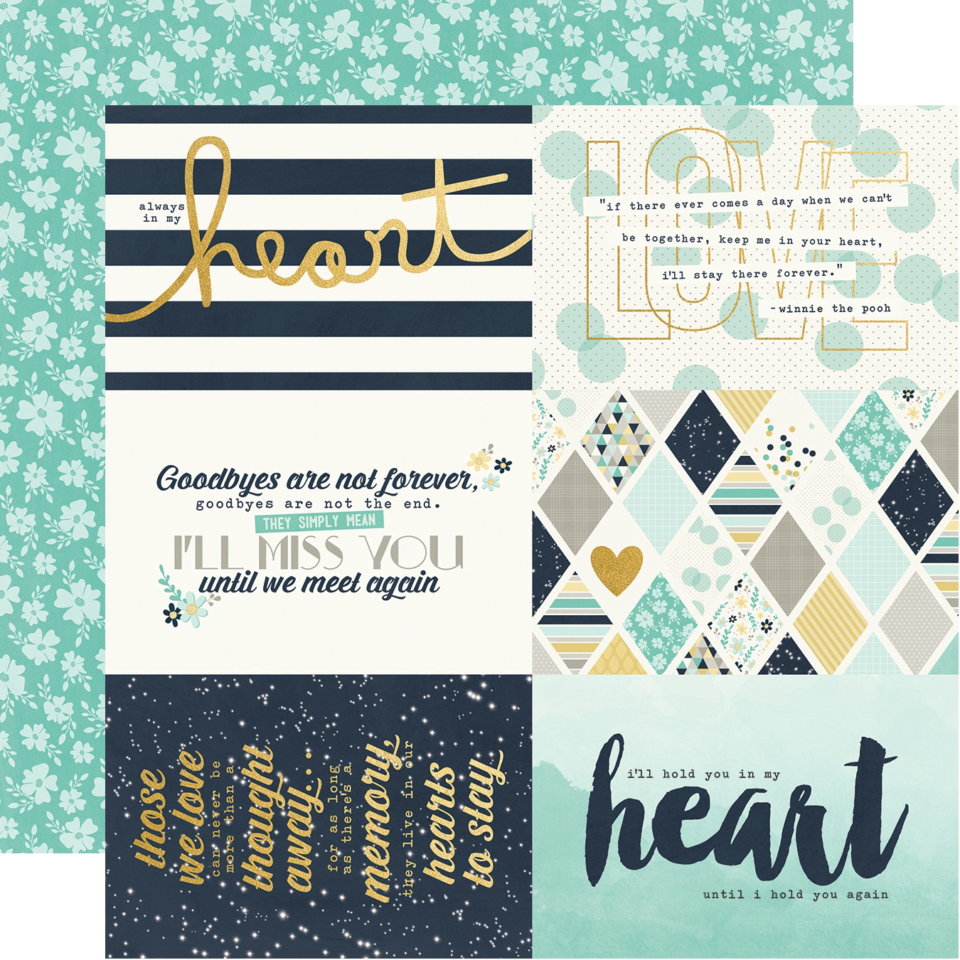 Heart Collection - 4x6 Elements with Foil (Simple Stories)