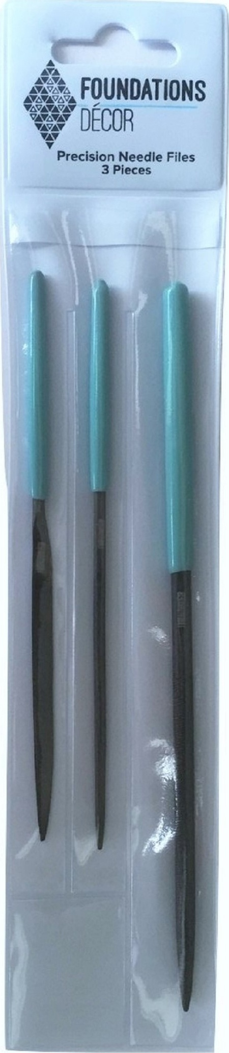 Precision Needle Files Set of 3