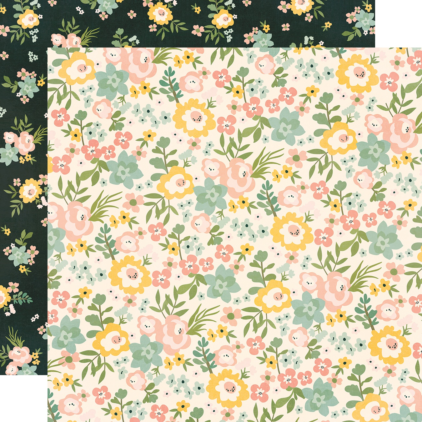 Spring Farmhouse Double-Sided Cardstock 12X12-Love A Lot