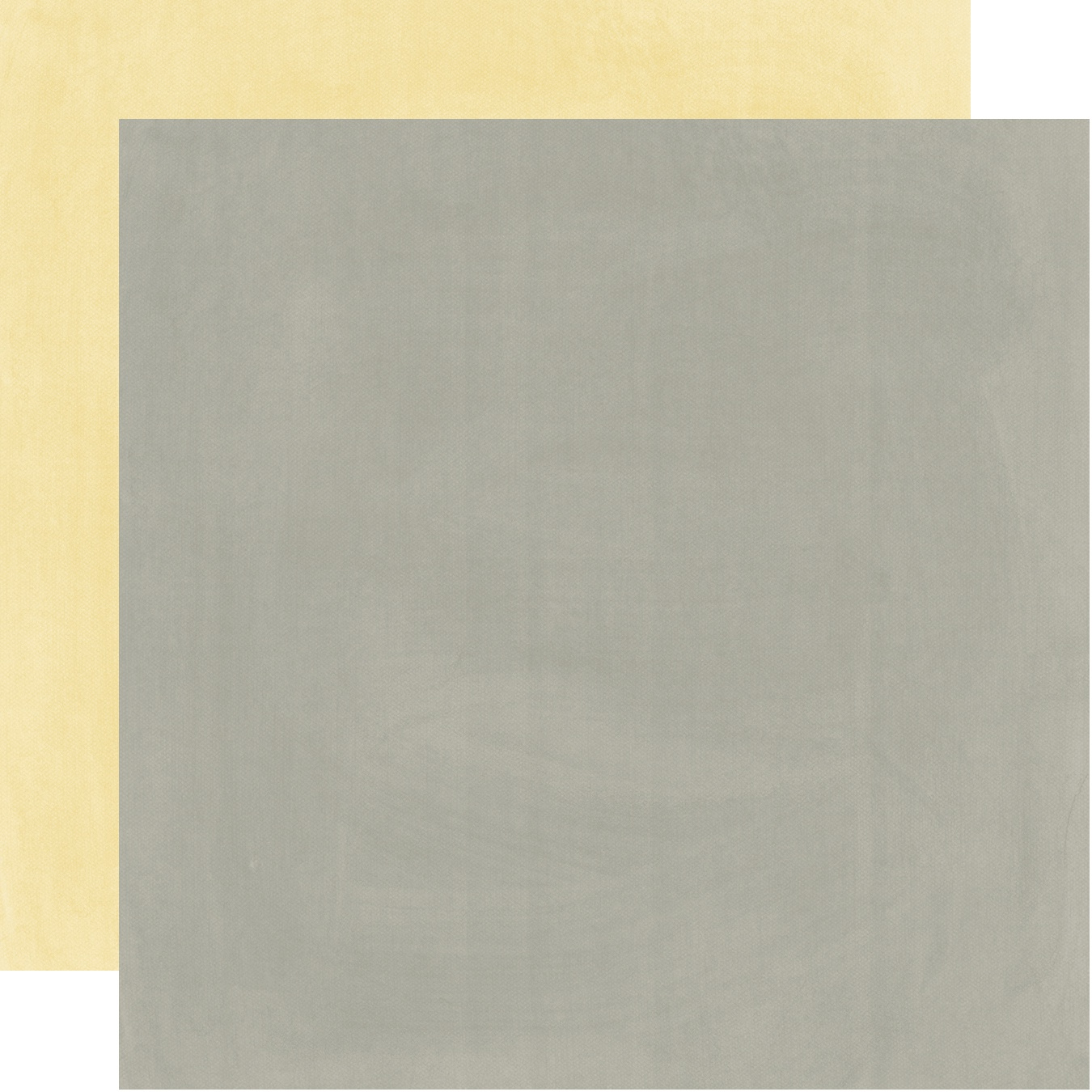 Heart Double-Sided Cardstock 12X12-Yellow/Grey Simple Basic