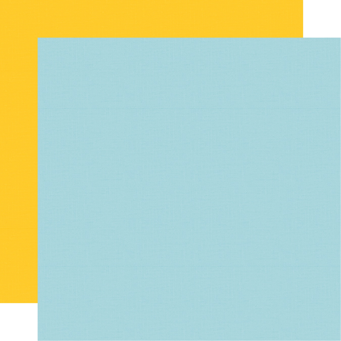 Say Cheese 4 Double-Sided Cardstock 12X12-Yellow/Light Blue Simple Basic