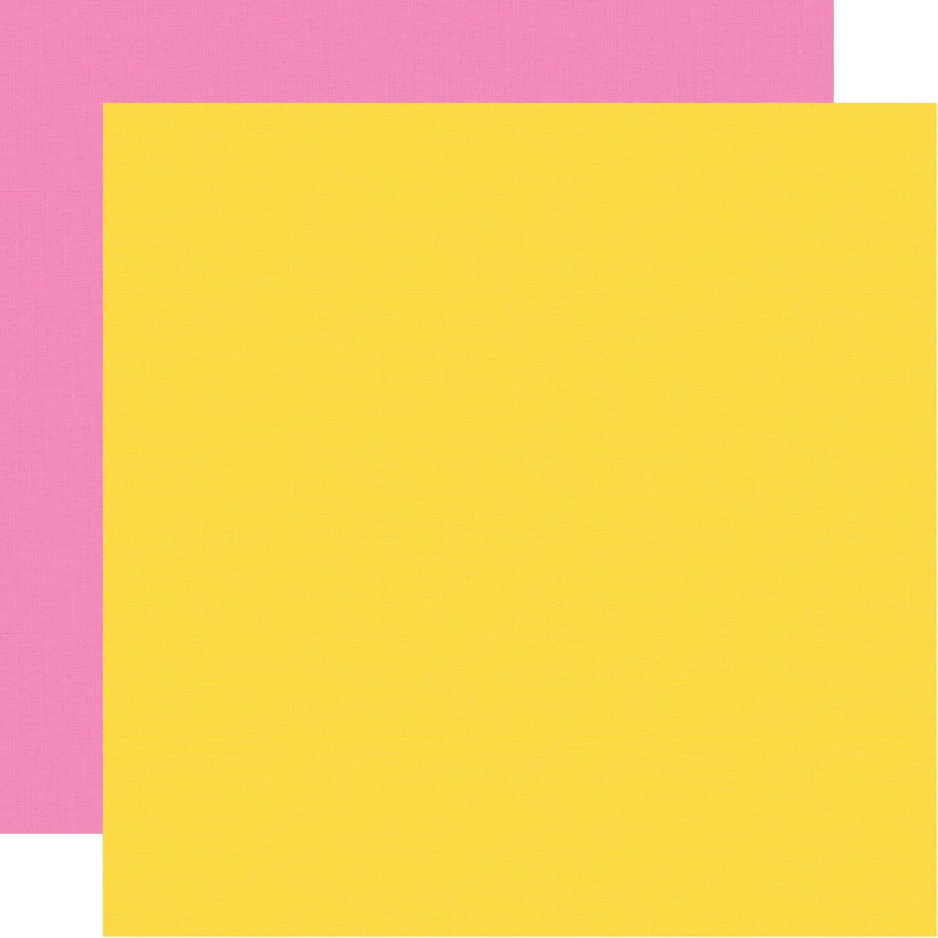 Little Princess Double-Sided Cardstock 12X12-Pink/Yellow Simple Basic