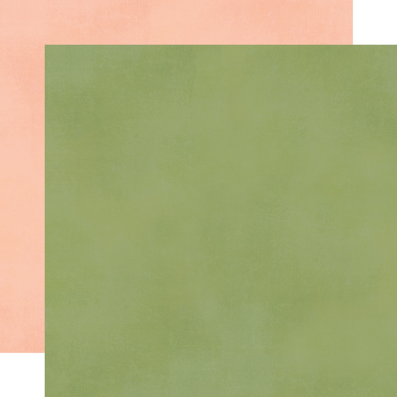 Spring Farmhouse Double-Sided Cardstock 12X12-Blush/Green Simple Basic