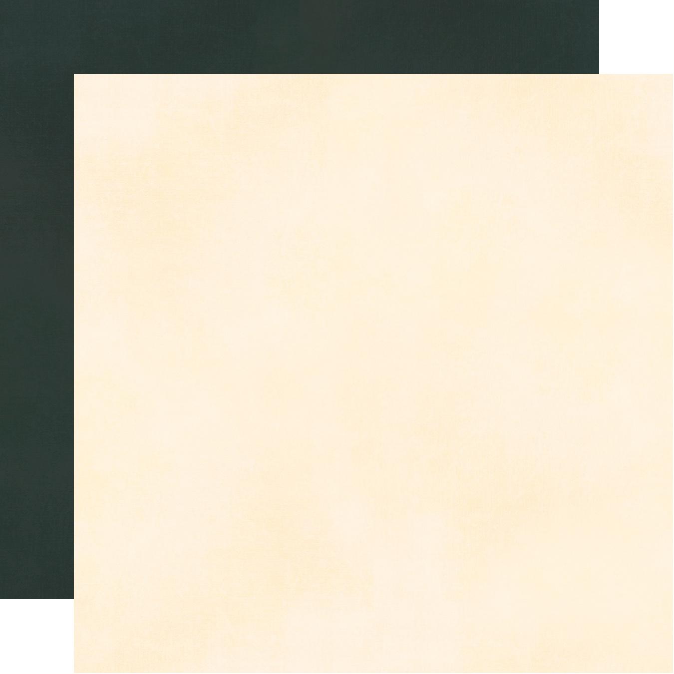 Spring Farmhouse Double-Sided Cardstock 12X12-Black/Cream Simple Basic