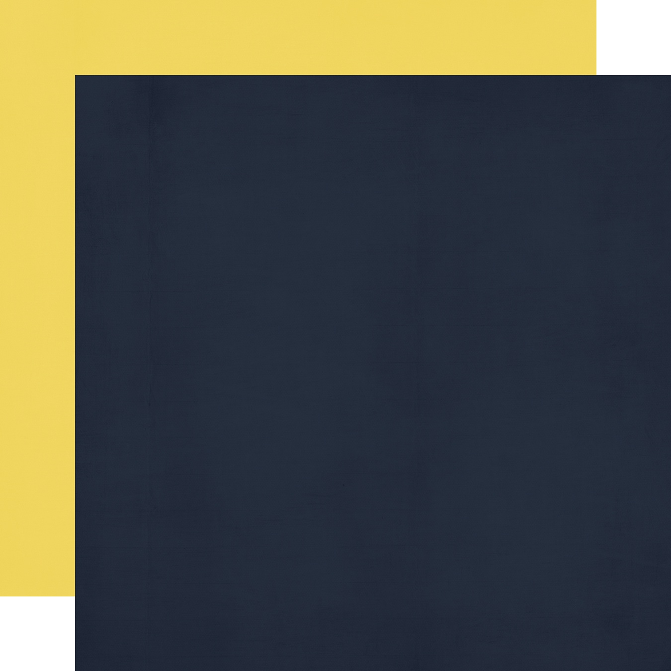 Cruisin' Double-Sided Cardstock 12X12-Navy/Yellow Simple Basic
