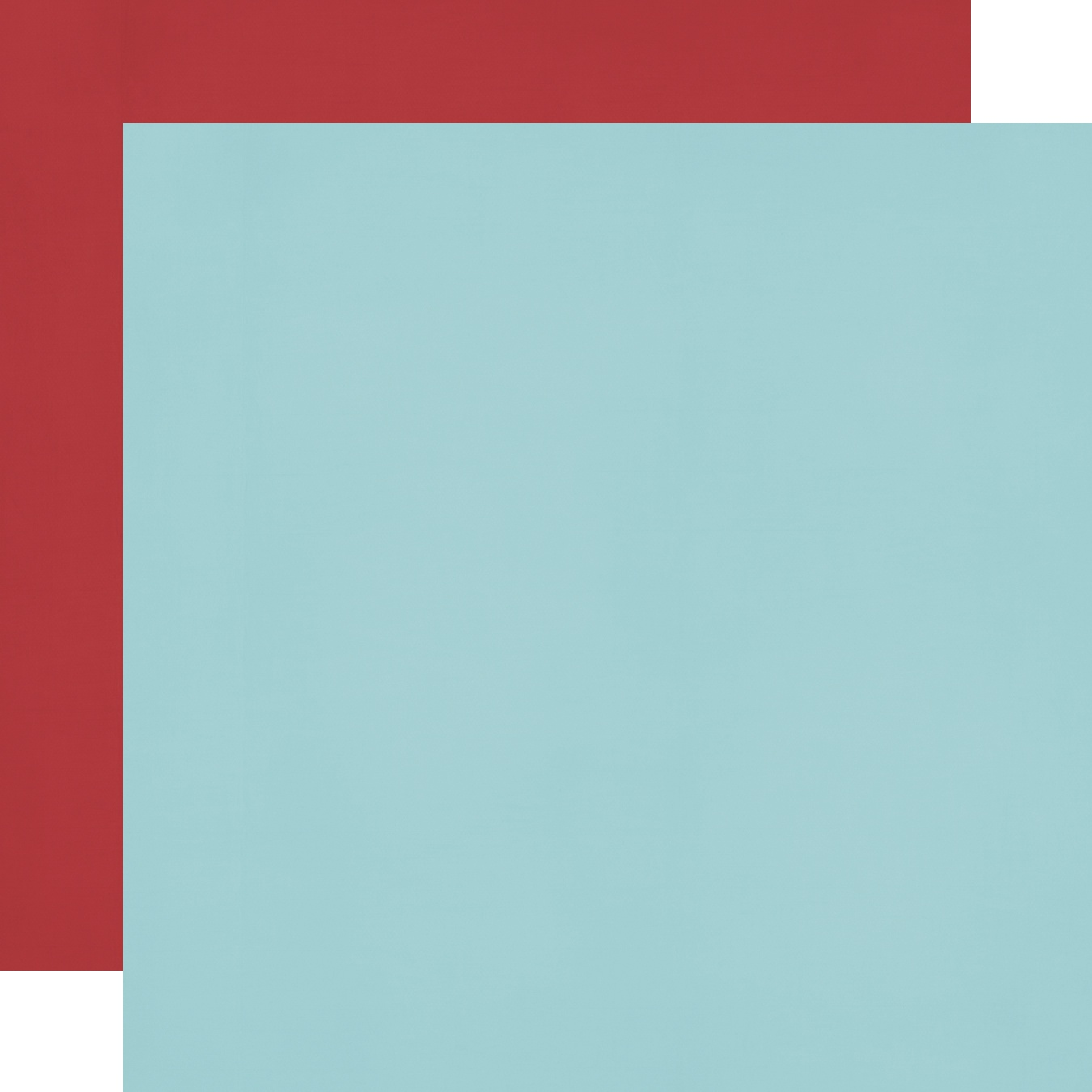Cruisin' Double-Sided Cardstock 12X12-Red/Light Blue Simple Basic