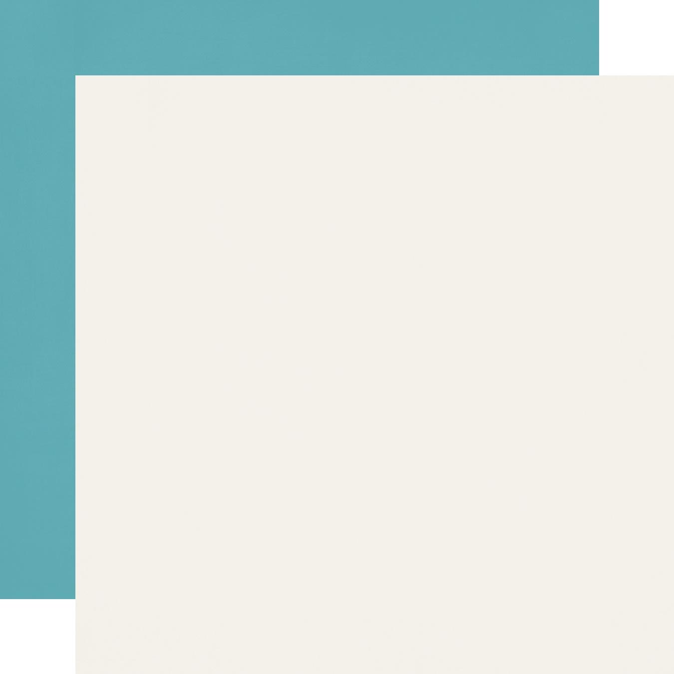 Cruisin' Double-Sided Cardstock 12X12-Teal/Cream Simple Basic