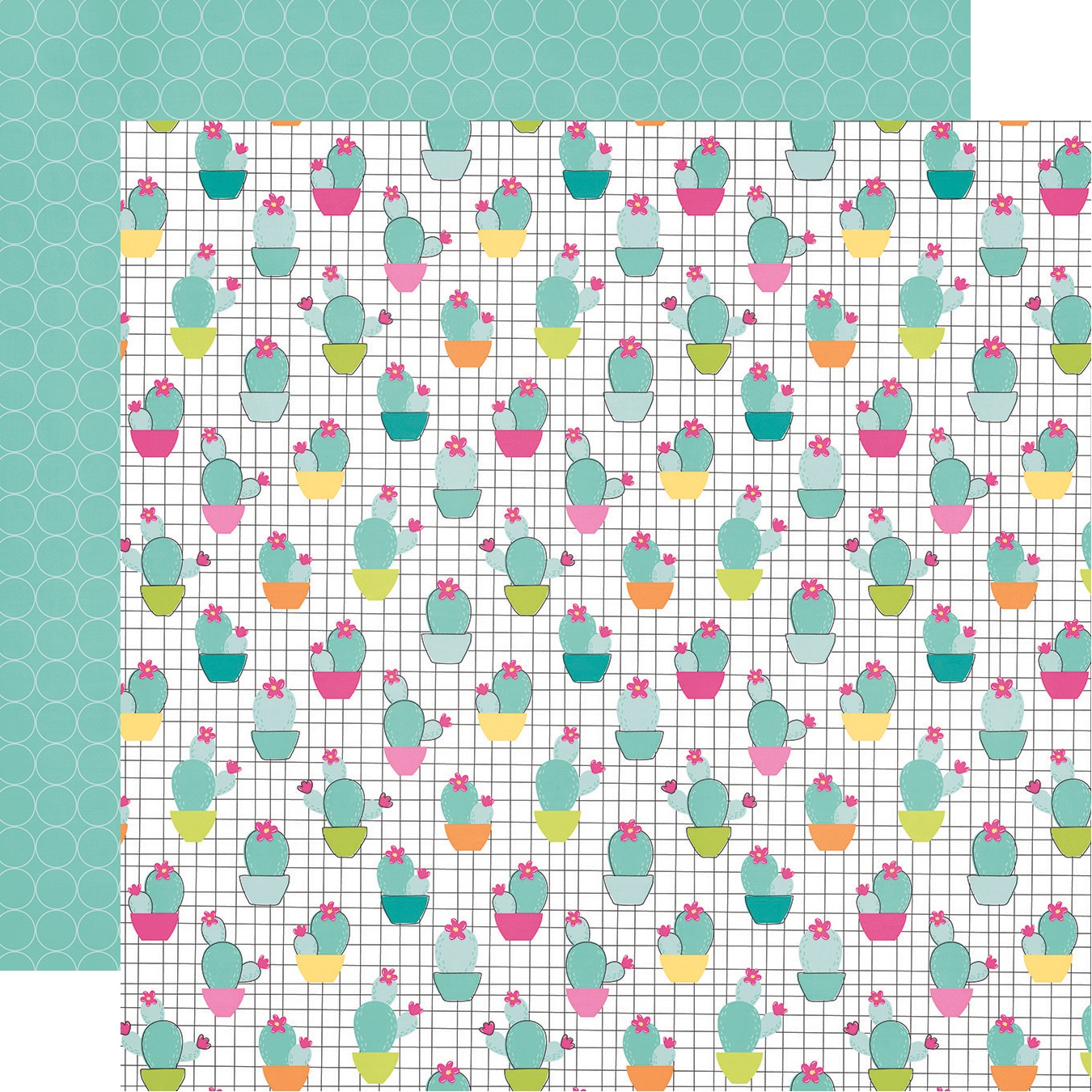 Oh Happy Day Double-Sided Cardstock 12X12-Stay Sharp