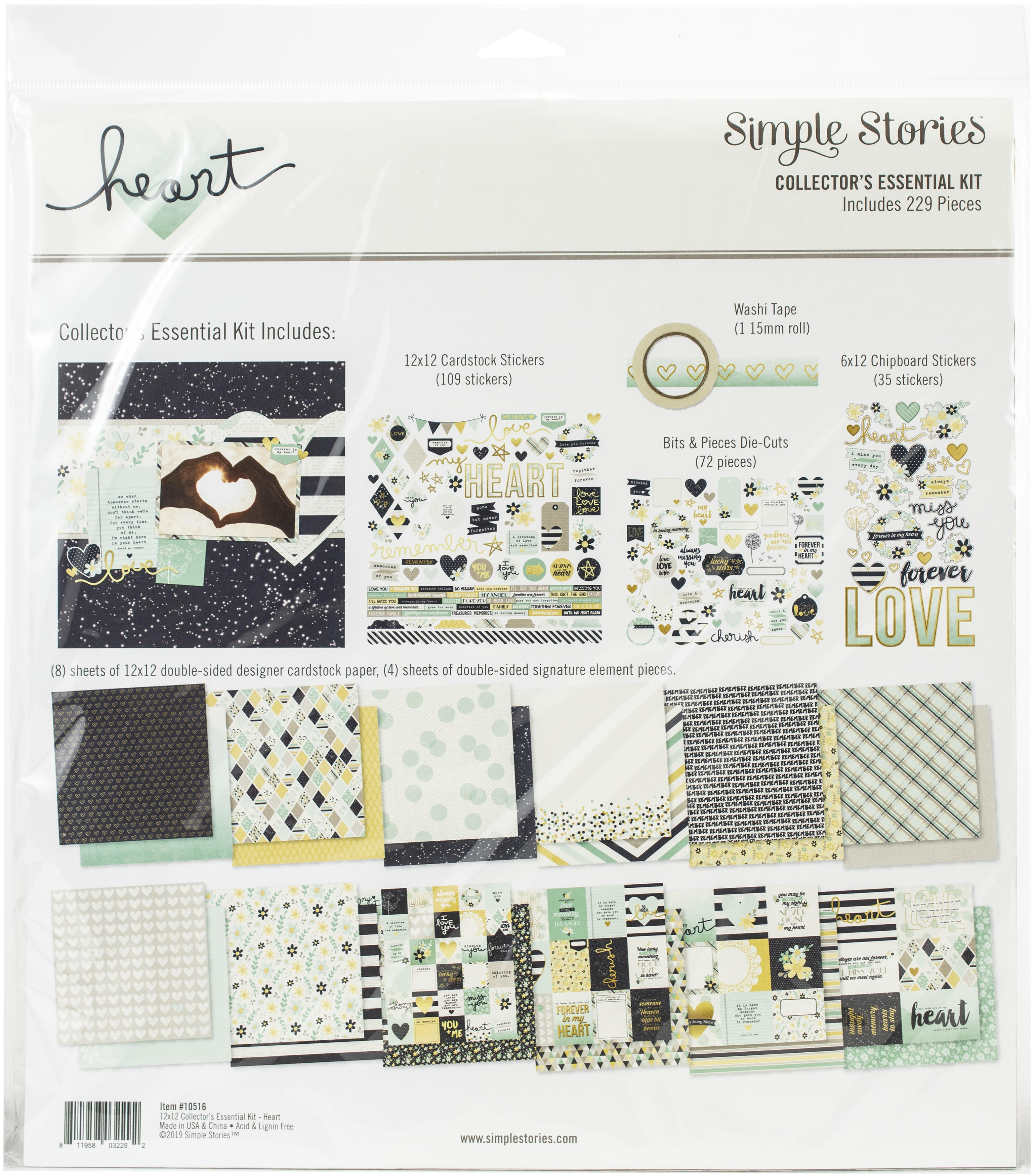 Simple Stories Heart Collectors Kit