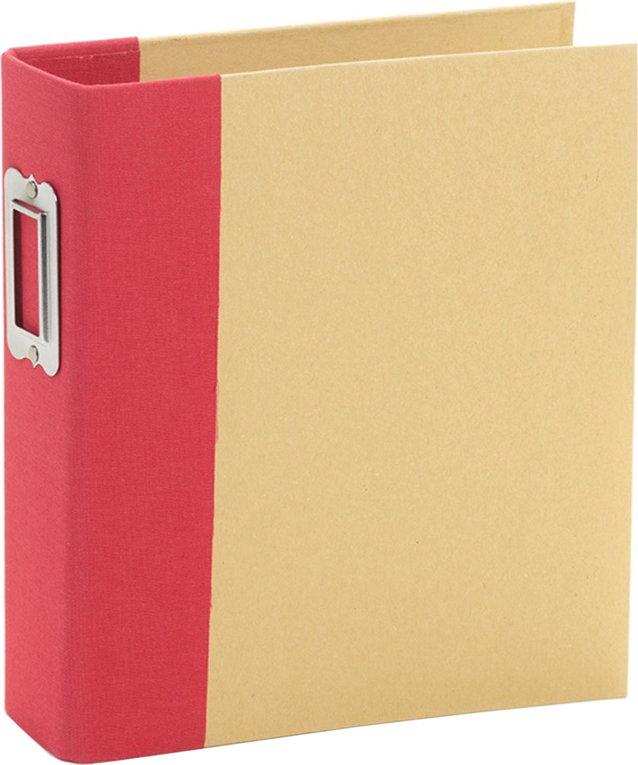 Simple Stories Sn@p! Binder 6X8-Red