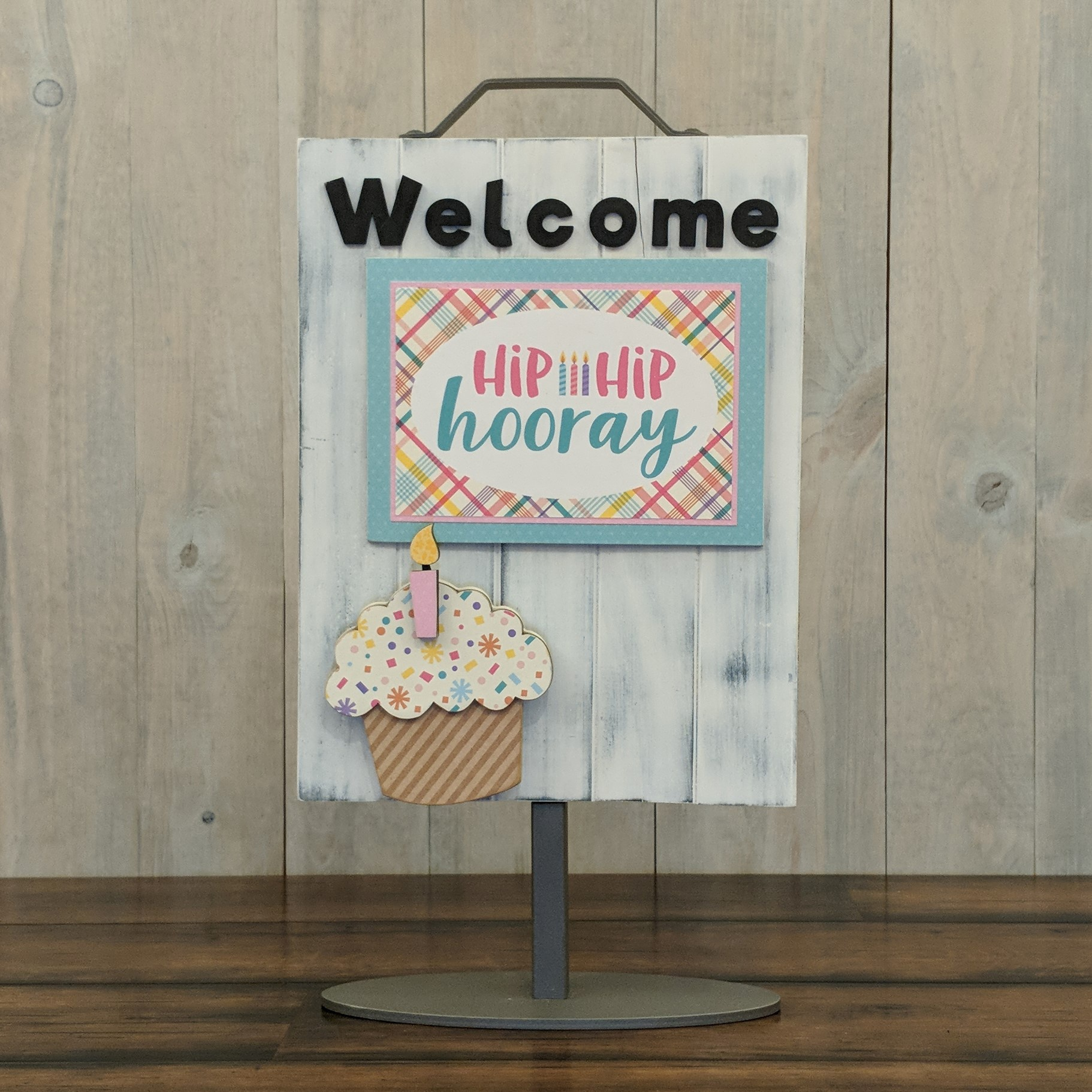 Foundations Decor Welcome Sign Kits-Birthday