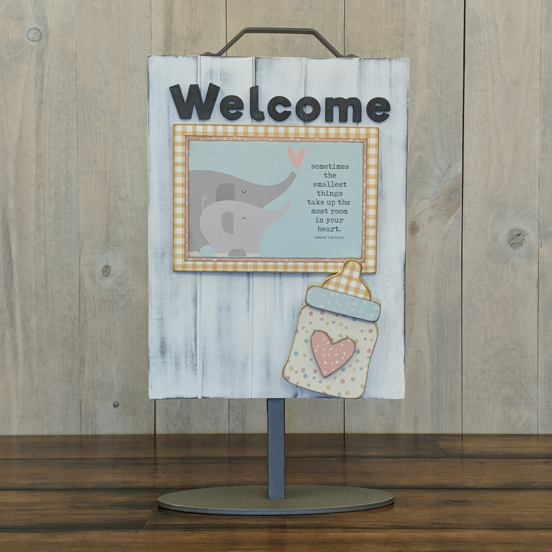 Foundations Decor Welcome Sign Kits-Baby