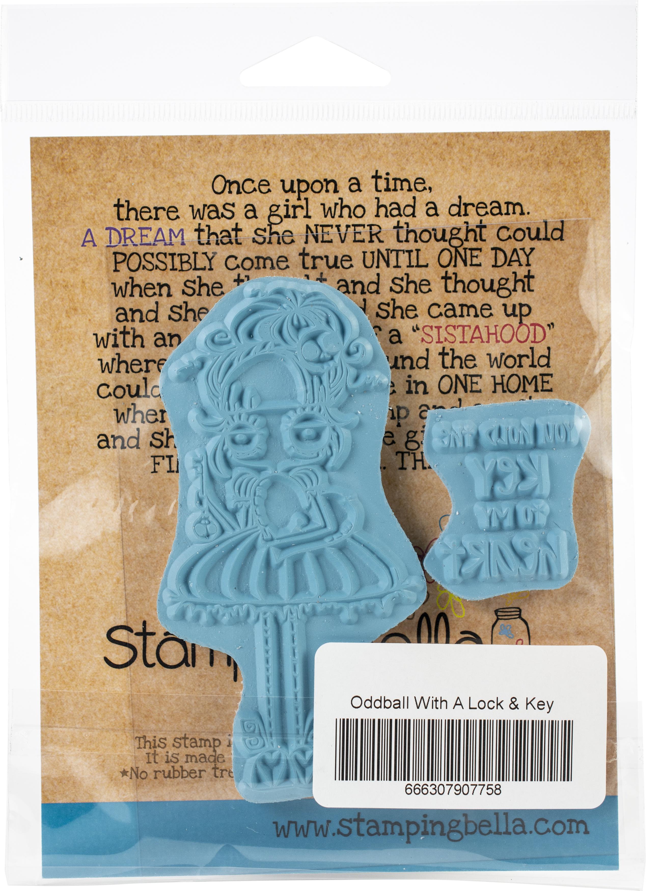 Oddball With A Lock & Key Stamp Set