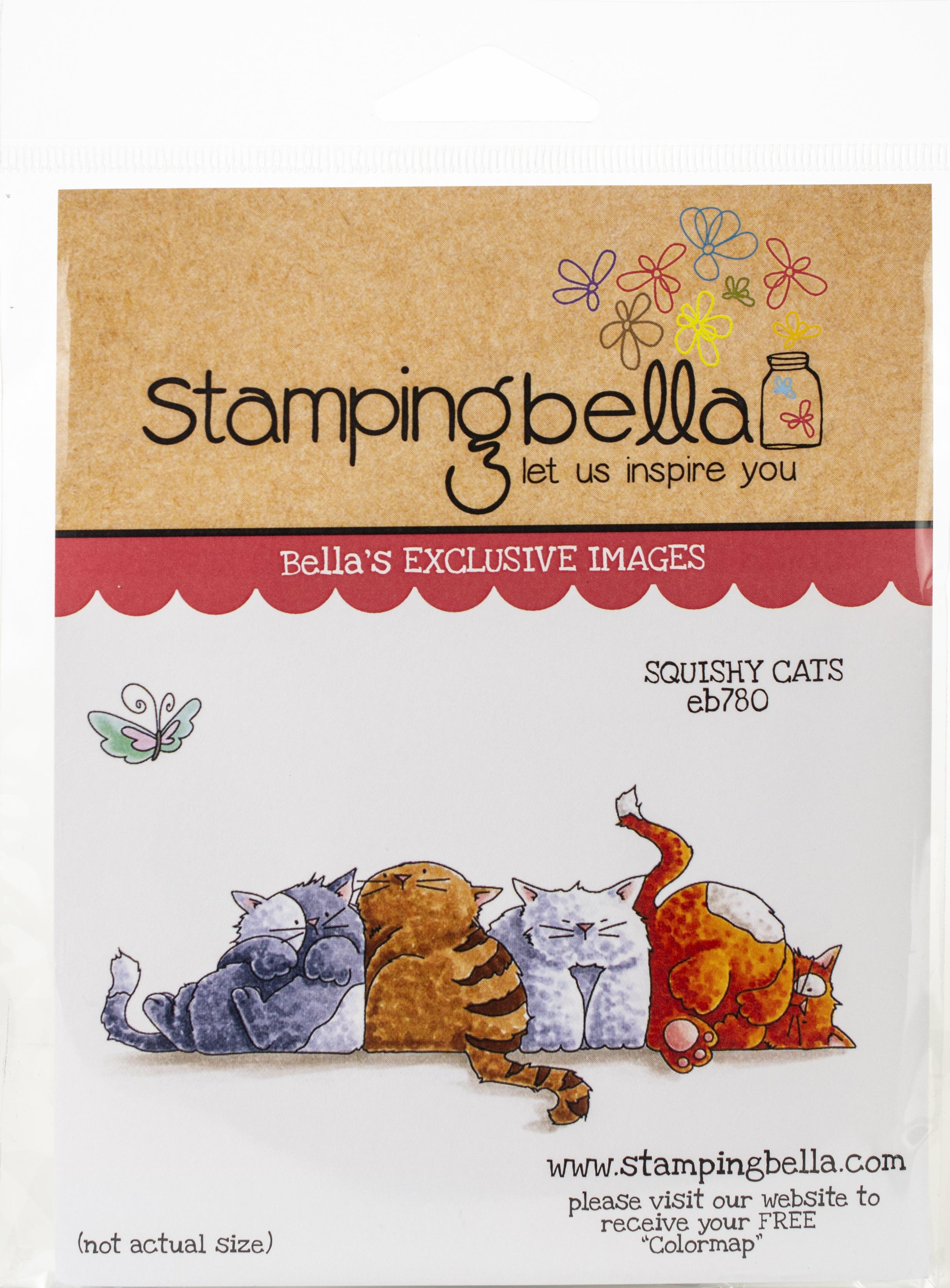 Squishy Cats Stamp Set