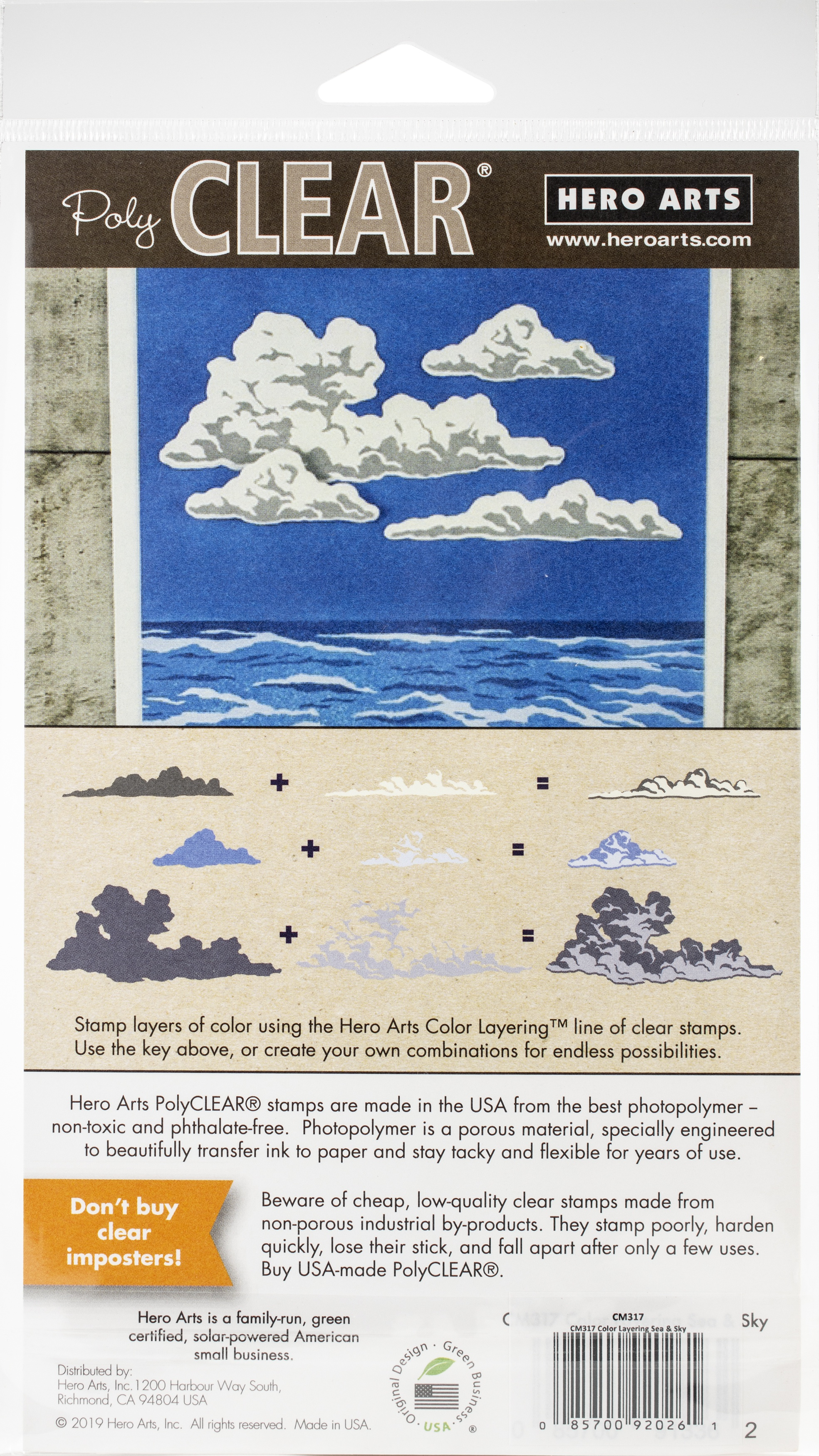Sea & Sky - Color Layering, Hero Arts