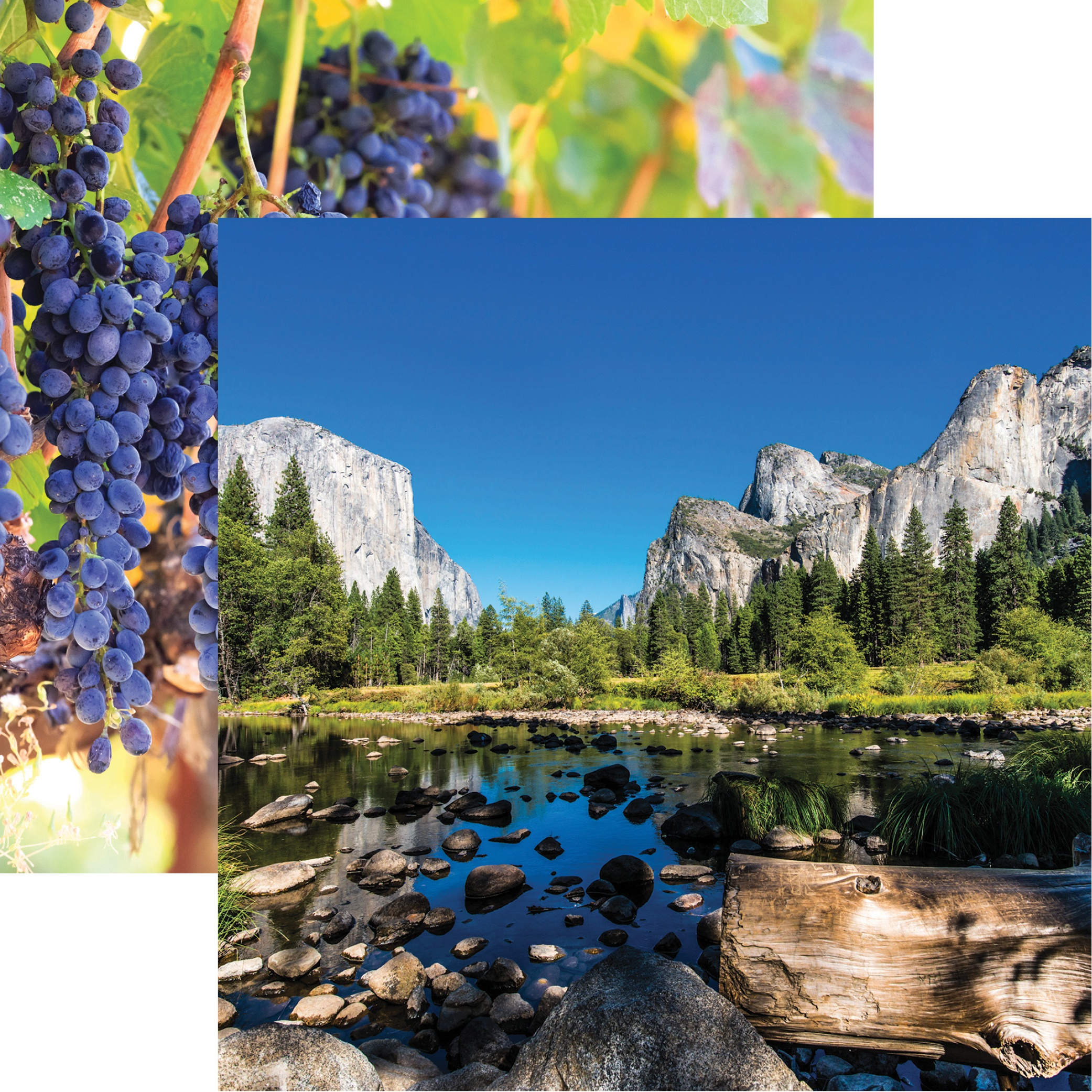 California Double-Sided Cardstock 12X12-Yosemite