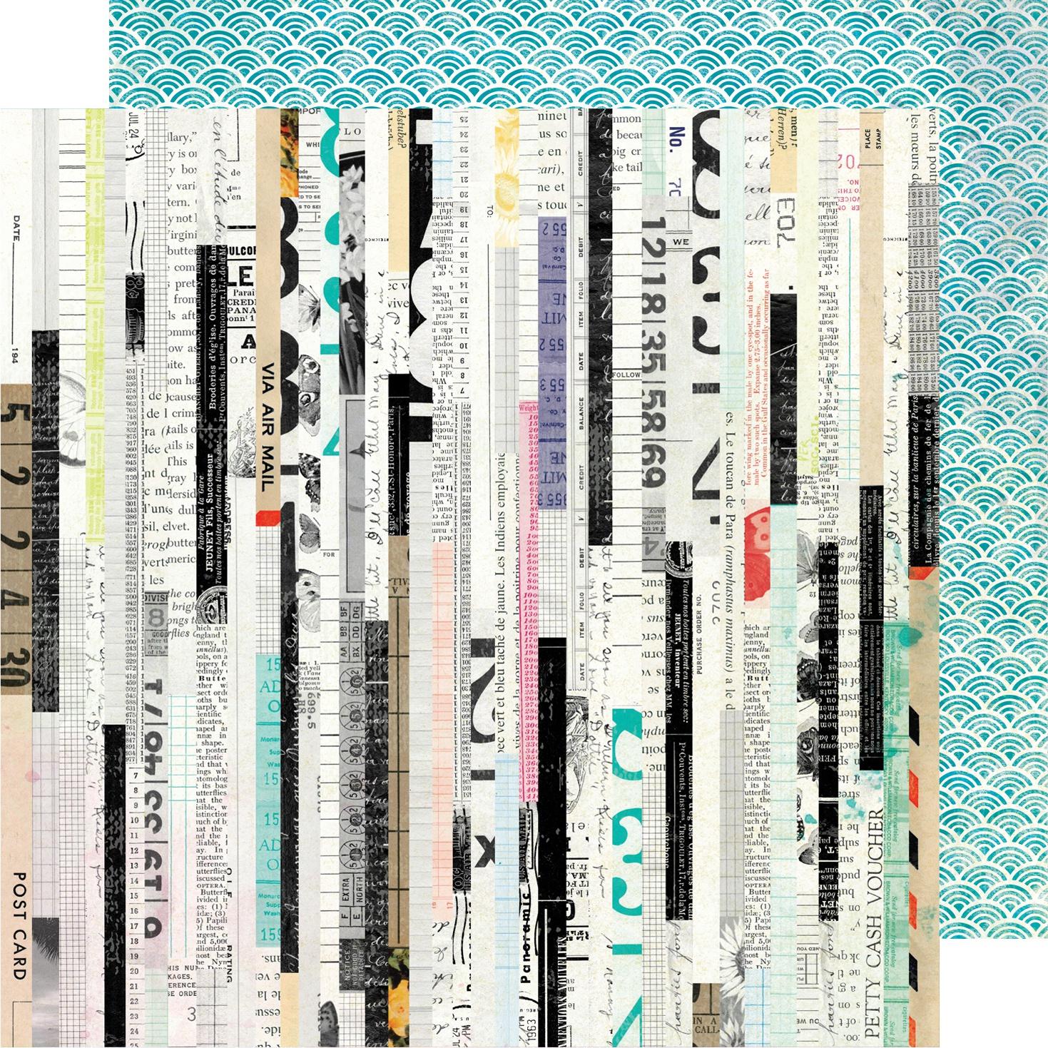 Vicki Boutin Color Kaleidoscope Dbl-Sided Cardstock 12X12-Odds & Ends