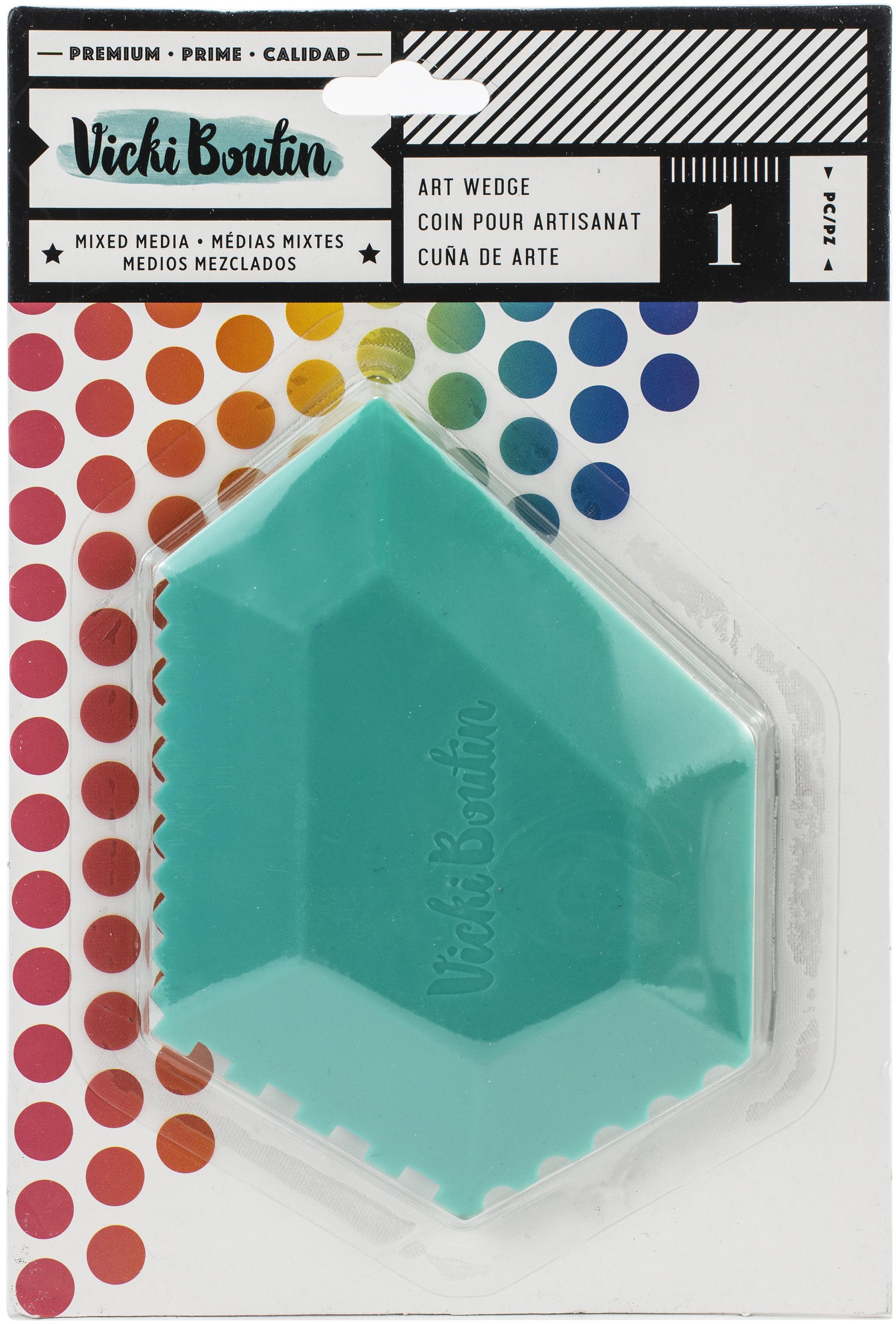 Vicki Boutin Color Kaleidoscope Silicon Art Wedge-