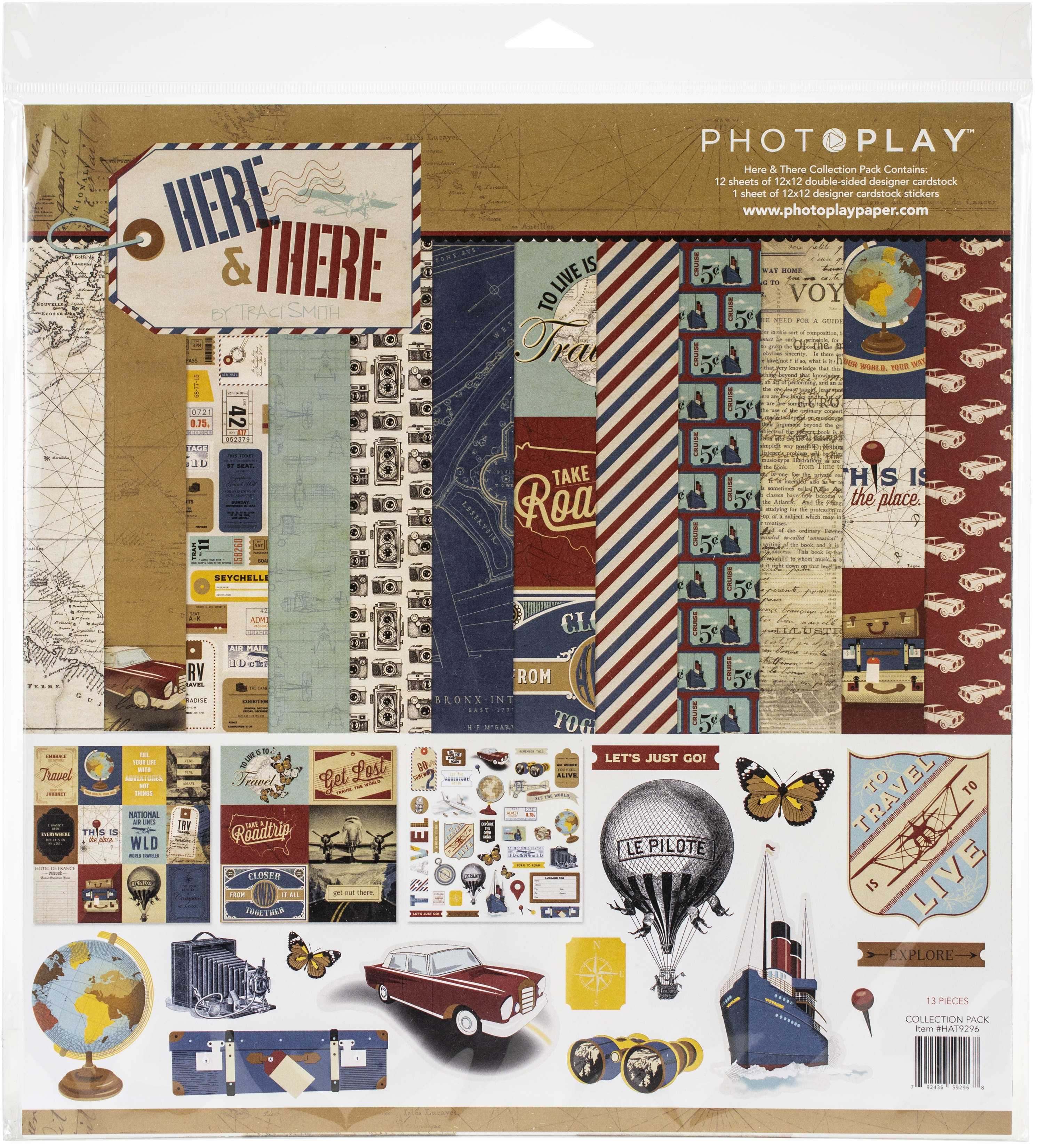 PhotoPlay Collection Pack 12X12-Here & There