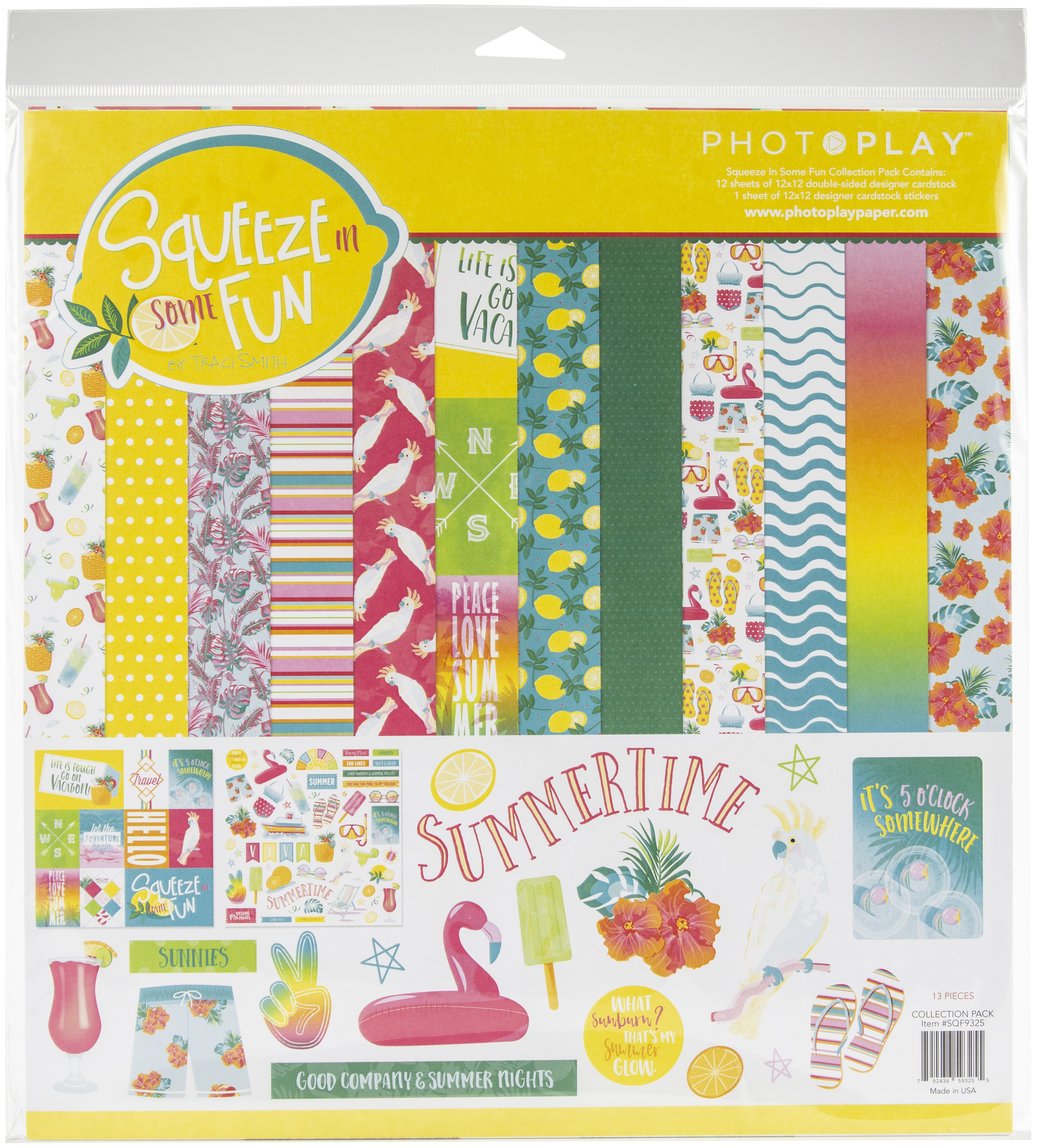 PhotoPlay Collection Pack 12X12-Squeeze In Some Fun