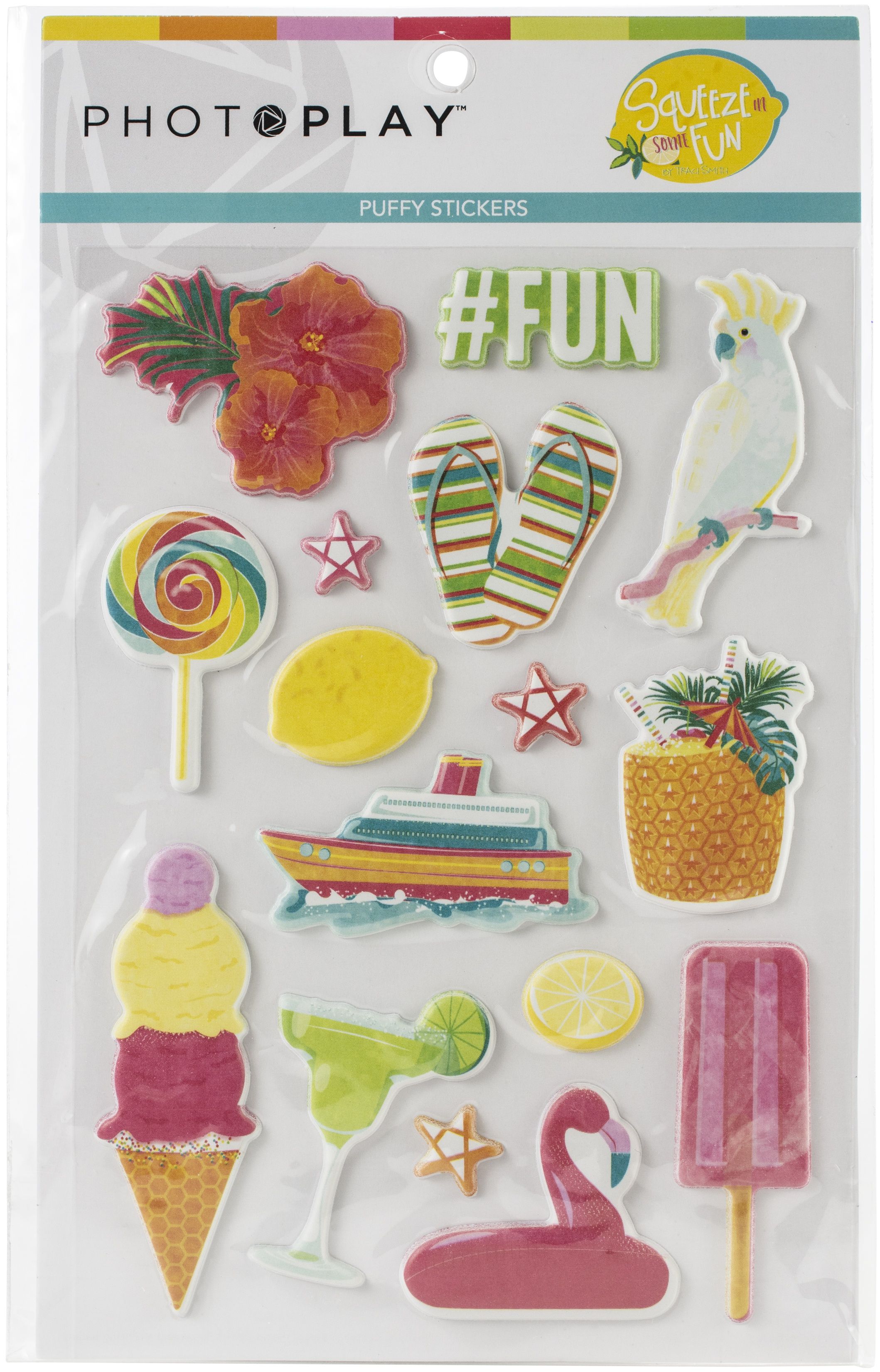 Squeeze In Some Fun Puffy Stickers-