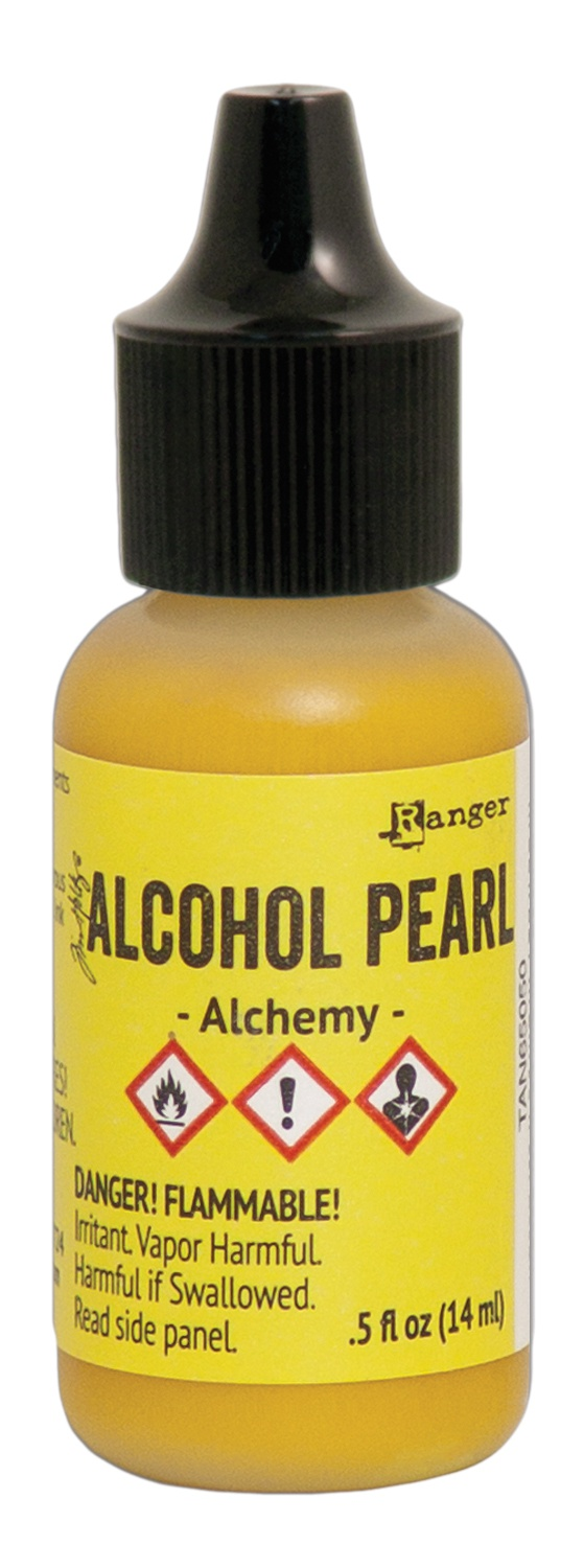Tim Holtz Alcohol Pearls .05oz-Alchemy