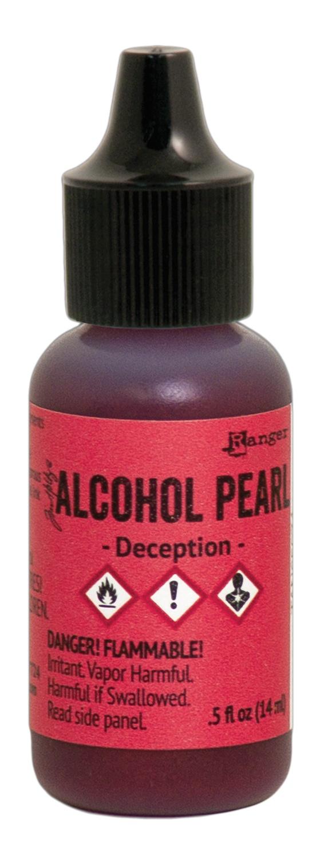 Tim Holtz Alcohol Pearls .05oz-Deception