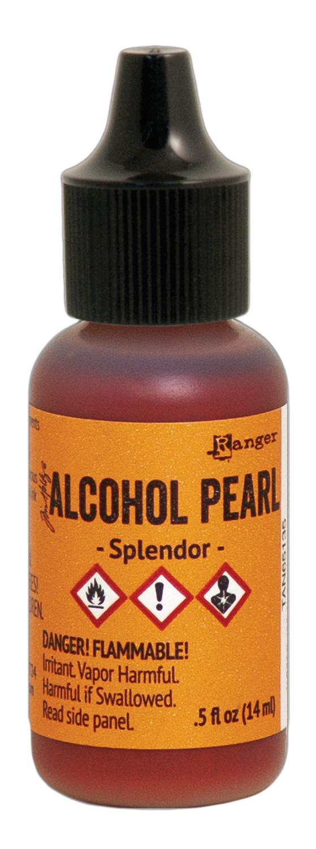 Tim Holtz Alcohol Pearls .05oz-Splendor