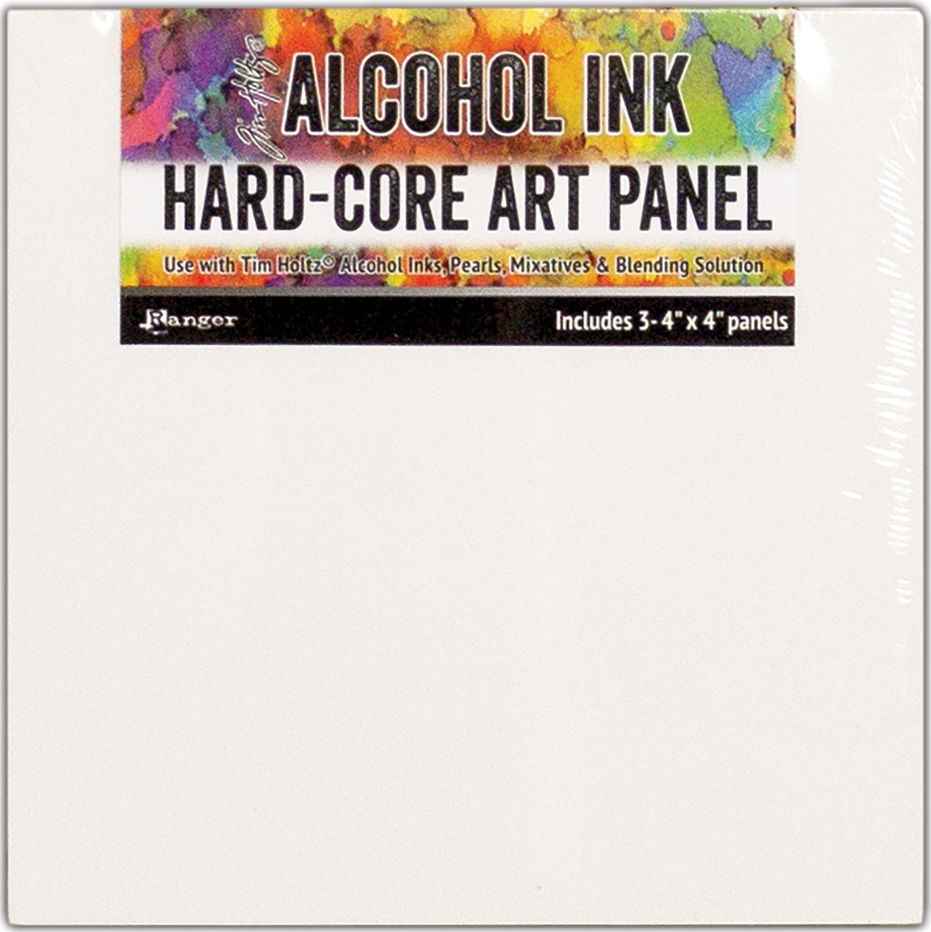 Alcohol Ink Art Panel 4x4 pack