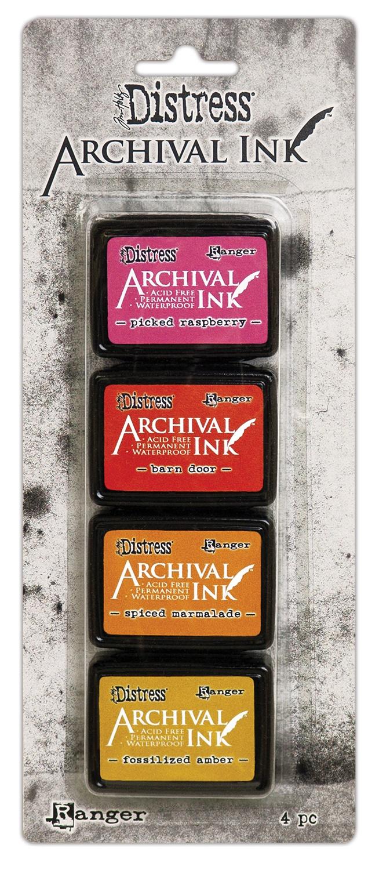 Tim Holtz Distress Archival Mini Ink Kit-Kit 1