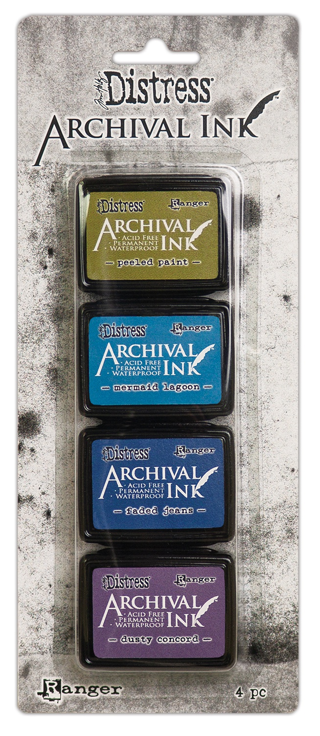 Tim Holtz Distress Mini Archival Ink Kit #2