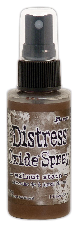 Tim Holtz Distress Oxide Spray 2oz-Walnut Stain