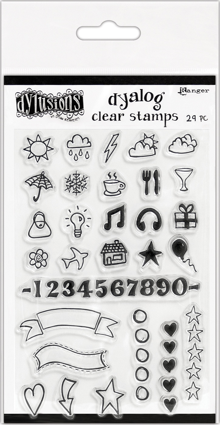Dyalog - Numerology Stamp - The Full Package Stamp set