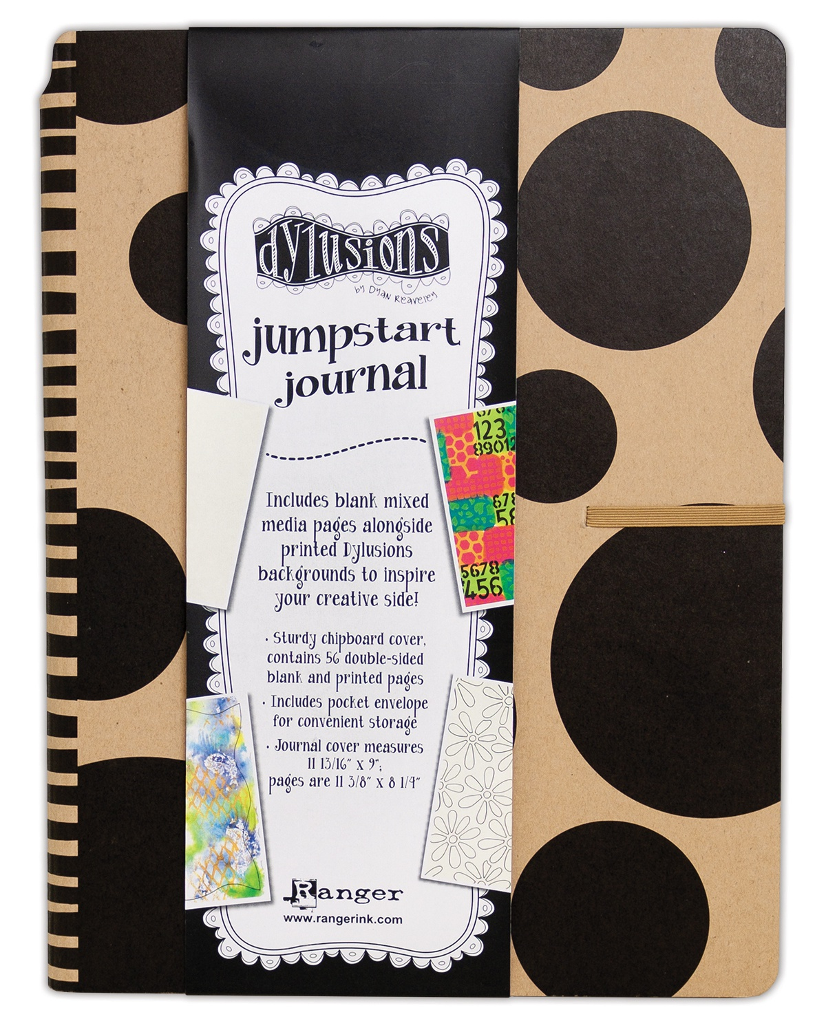 Dyan Reaveley's Dylusions Jumpstart Journal-