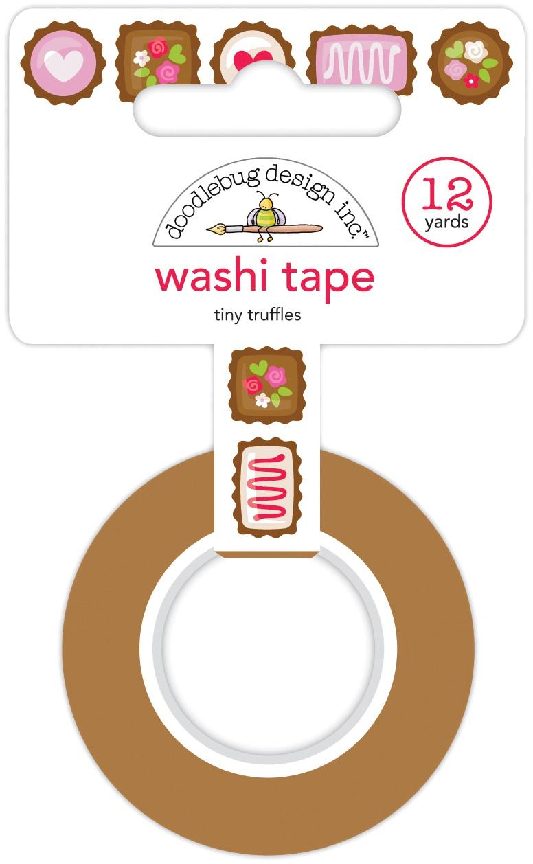 Doodlebug Washi Tape 15mmx12yd-Tiny Truffles